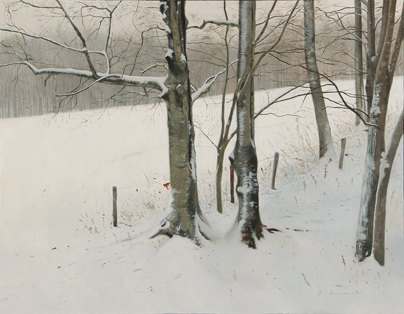 "First Snow    - 24 x 30"", oil Sold"
