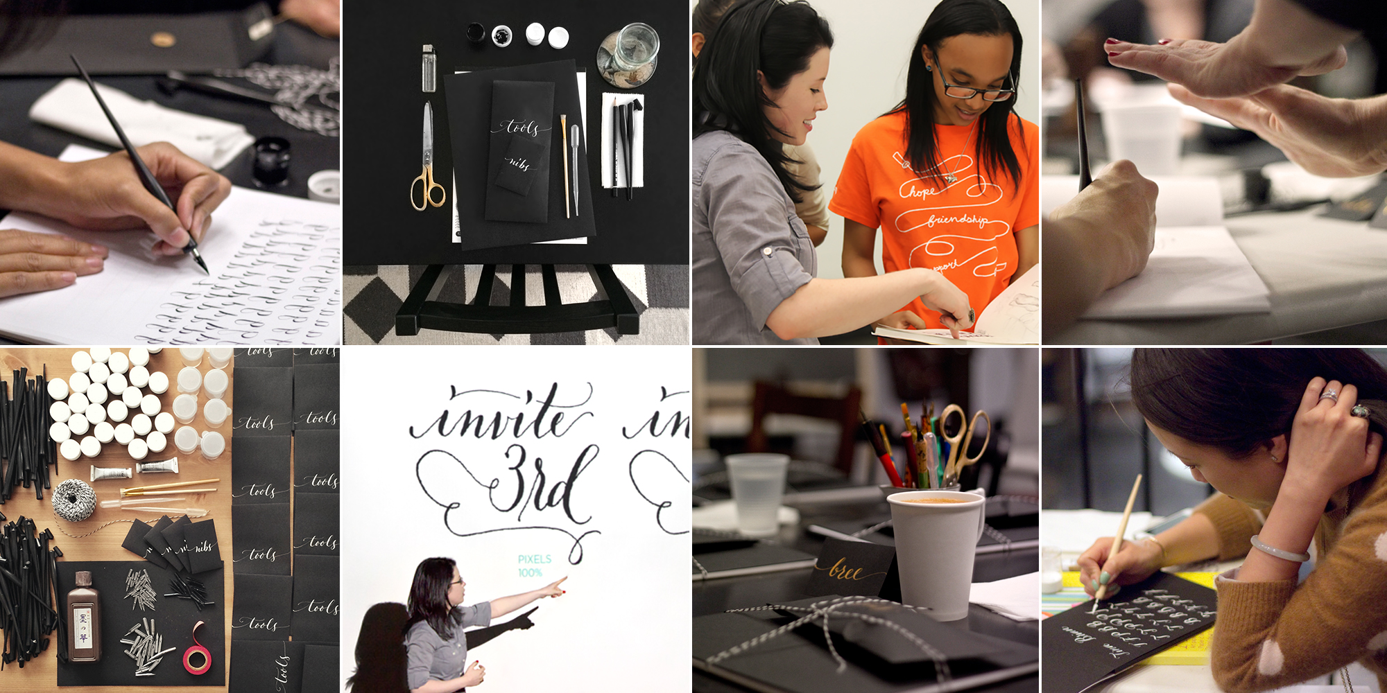 Boston Modern Calligraphy Workshops