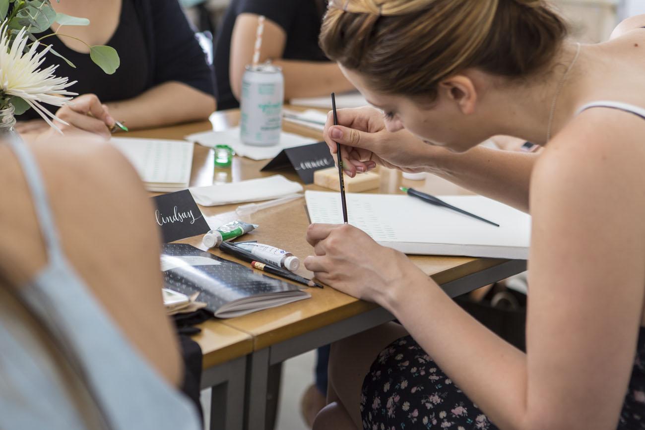 Intermediate Modern Calligraphy Workshop