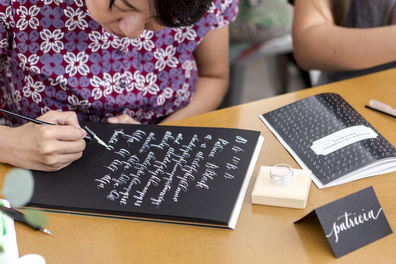 Intermediate Calligraphy Workshop