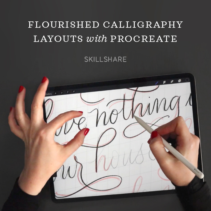 Flourished Layout Design on Skillshare
