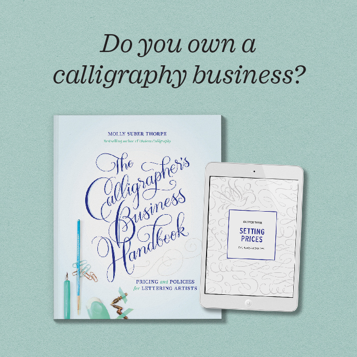 The Calligrapher's Business Handbook