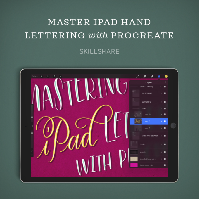 Master iPad Lettering on Skillshare