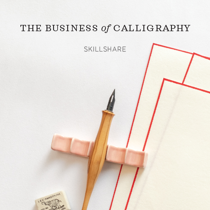 The Business of Calligraphy on Skillshare