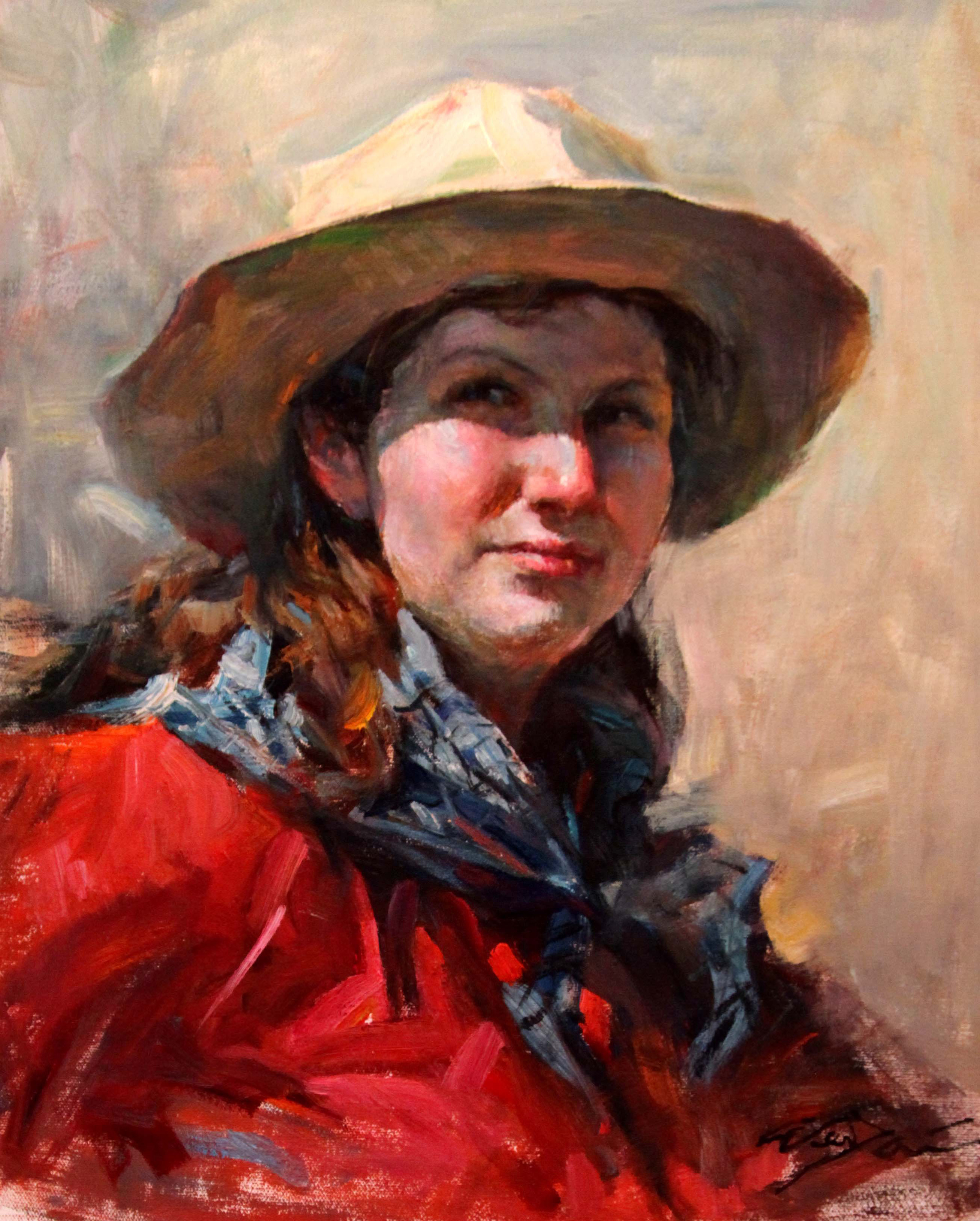 Cowgirl in red dress copy.jpg
