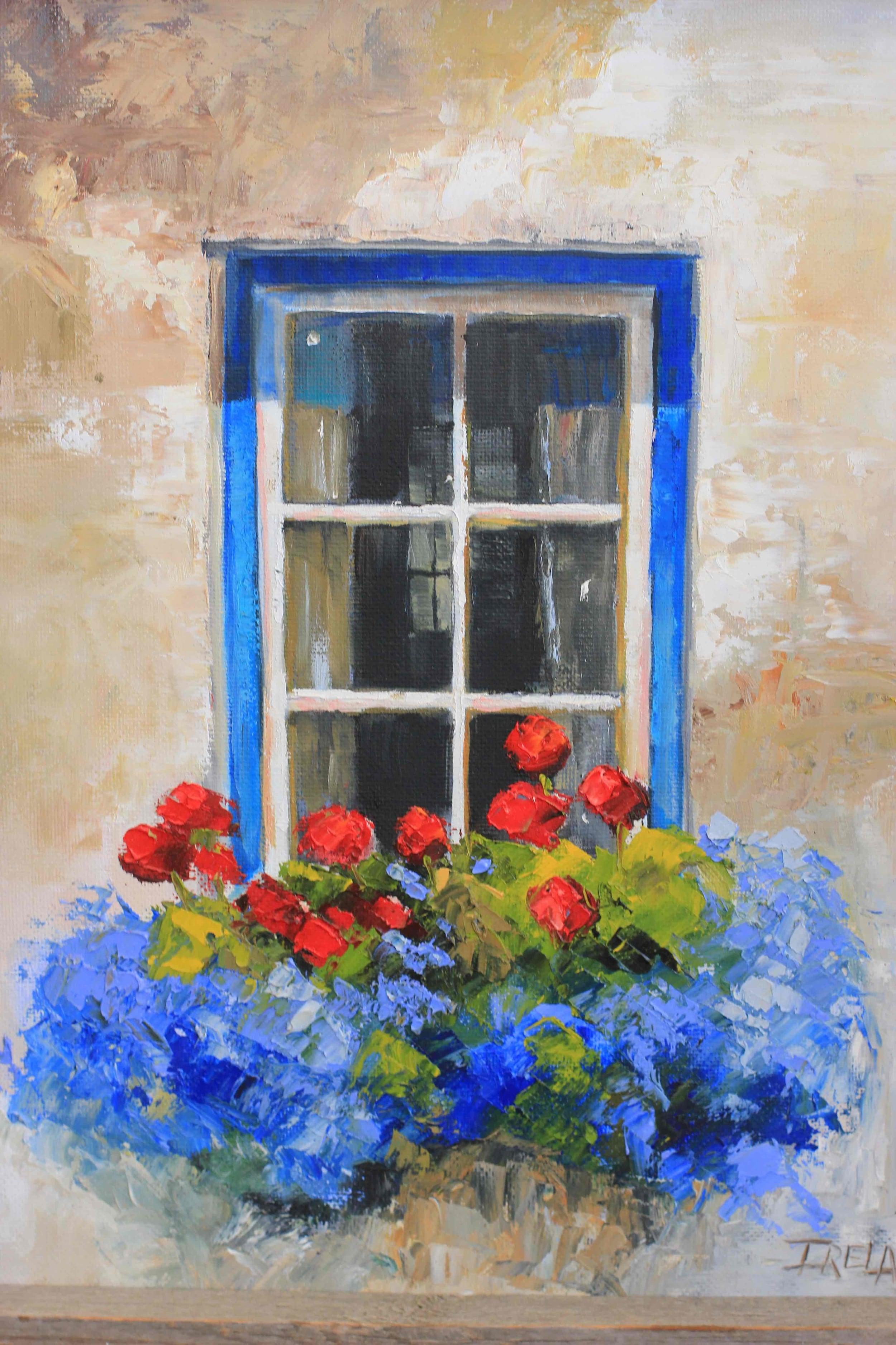 """""""Nantucket Blue Window"""""""
