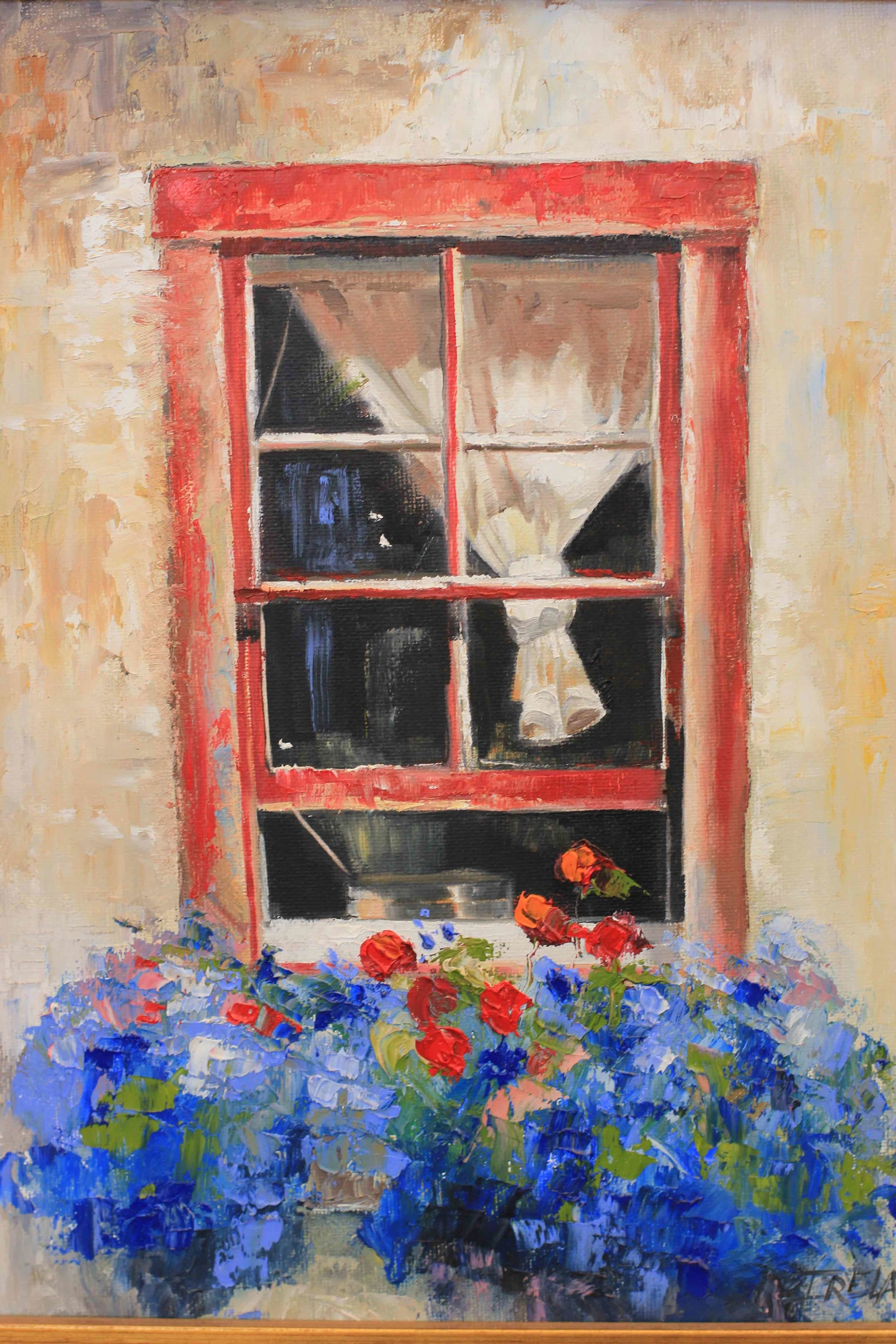 """Nantucket Red Window"""