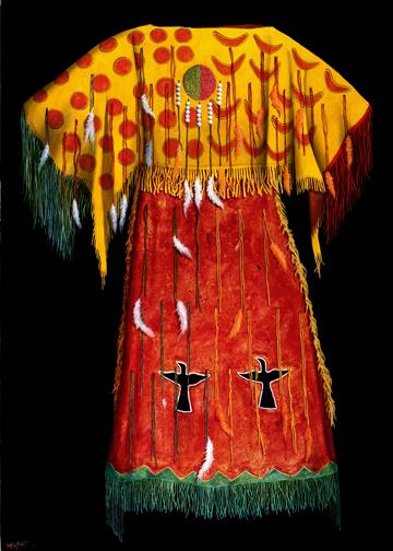 """1890 Arapaho Ghost Dance Dress"""