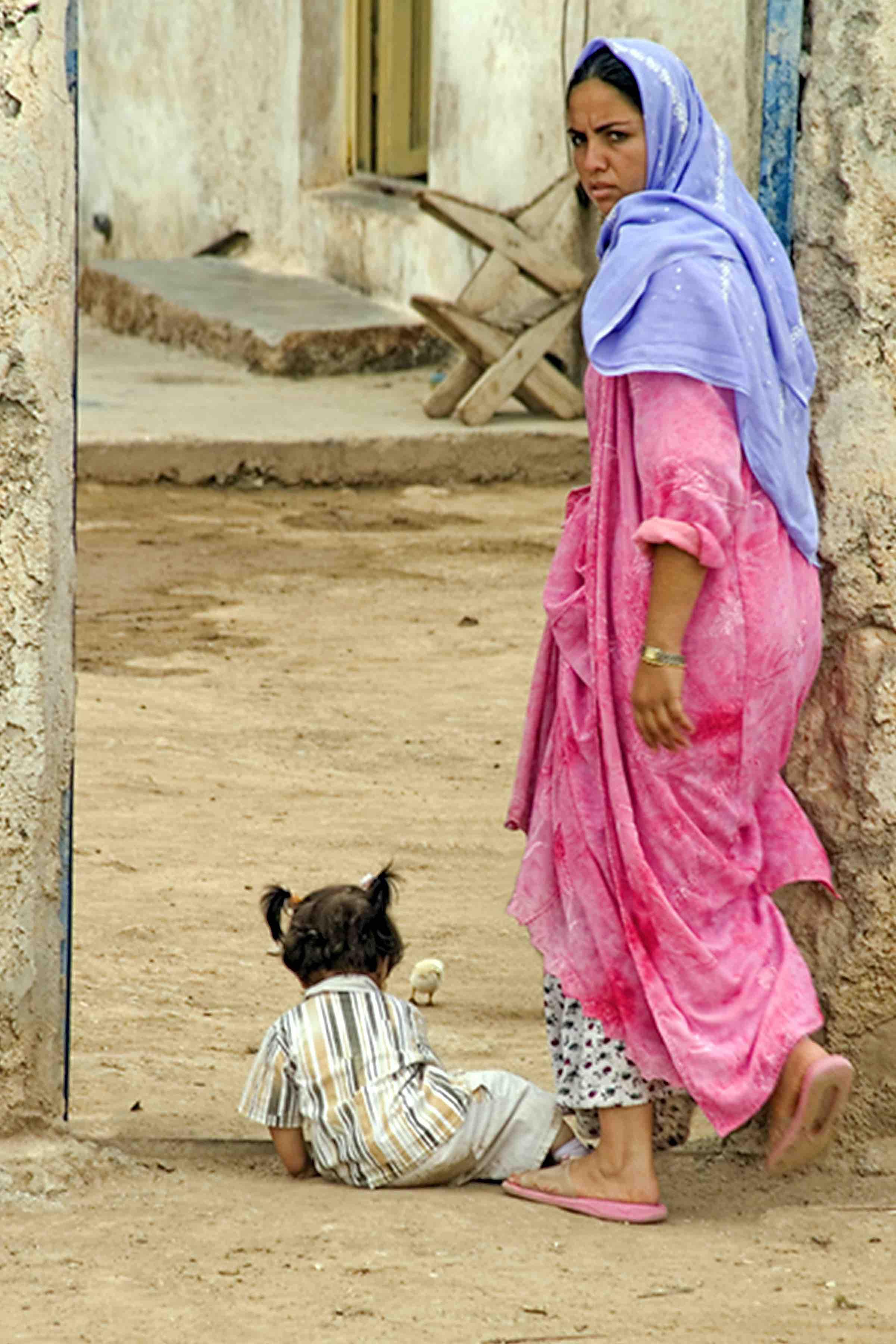 Turkey_Lady and Child 12x8@300 sig.jpg