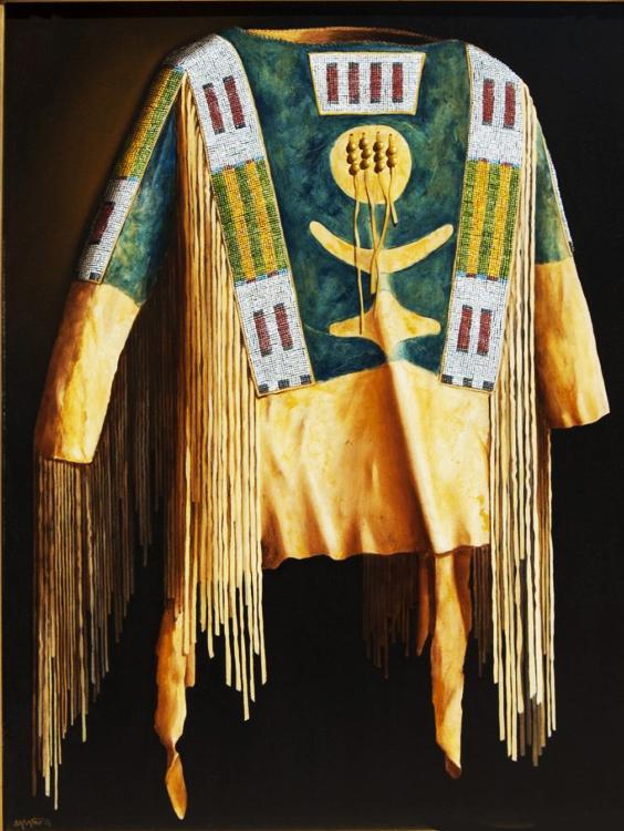 """Lakota Sioux 1870 Shirt"""