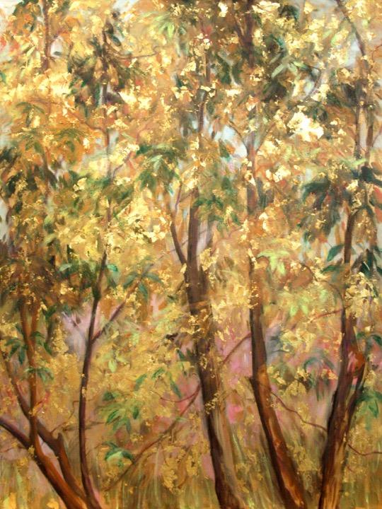 """""""Golden Tree of Life Diptych II"""""""