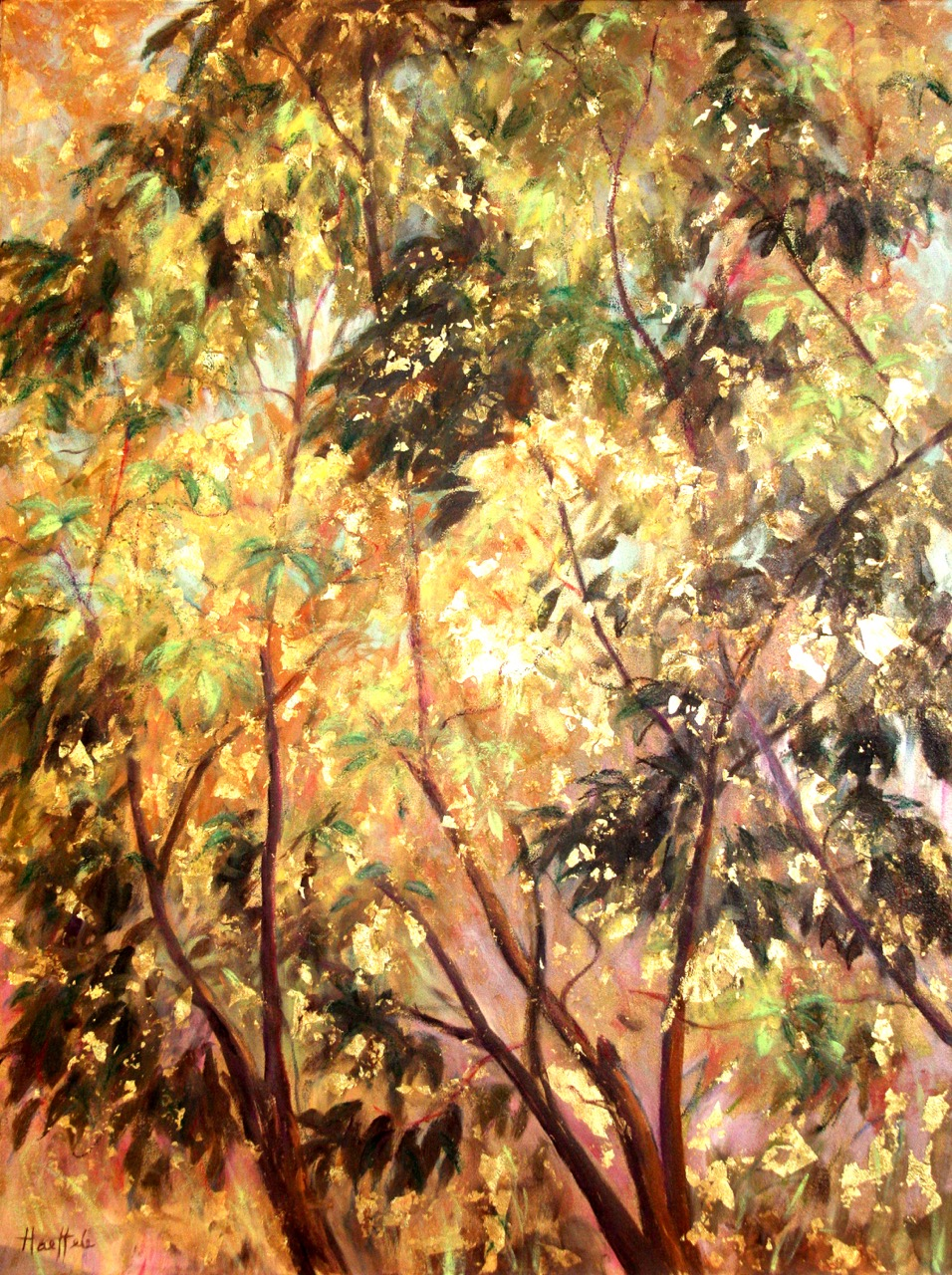 """""""Golden Tree of Life Diptych I"""""""