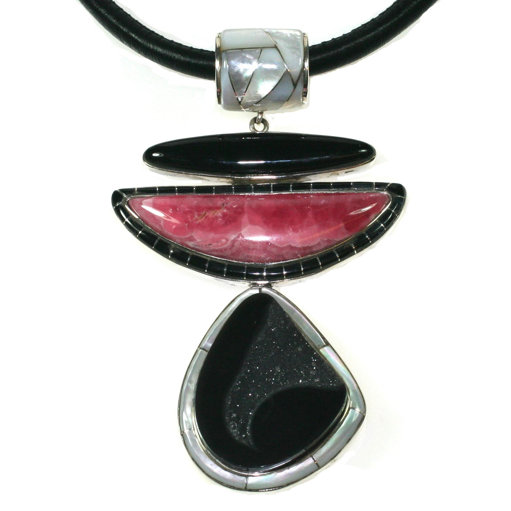 Rhodochrosite-black-onyx-inlay-pendant.jpg