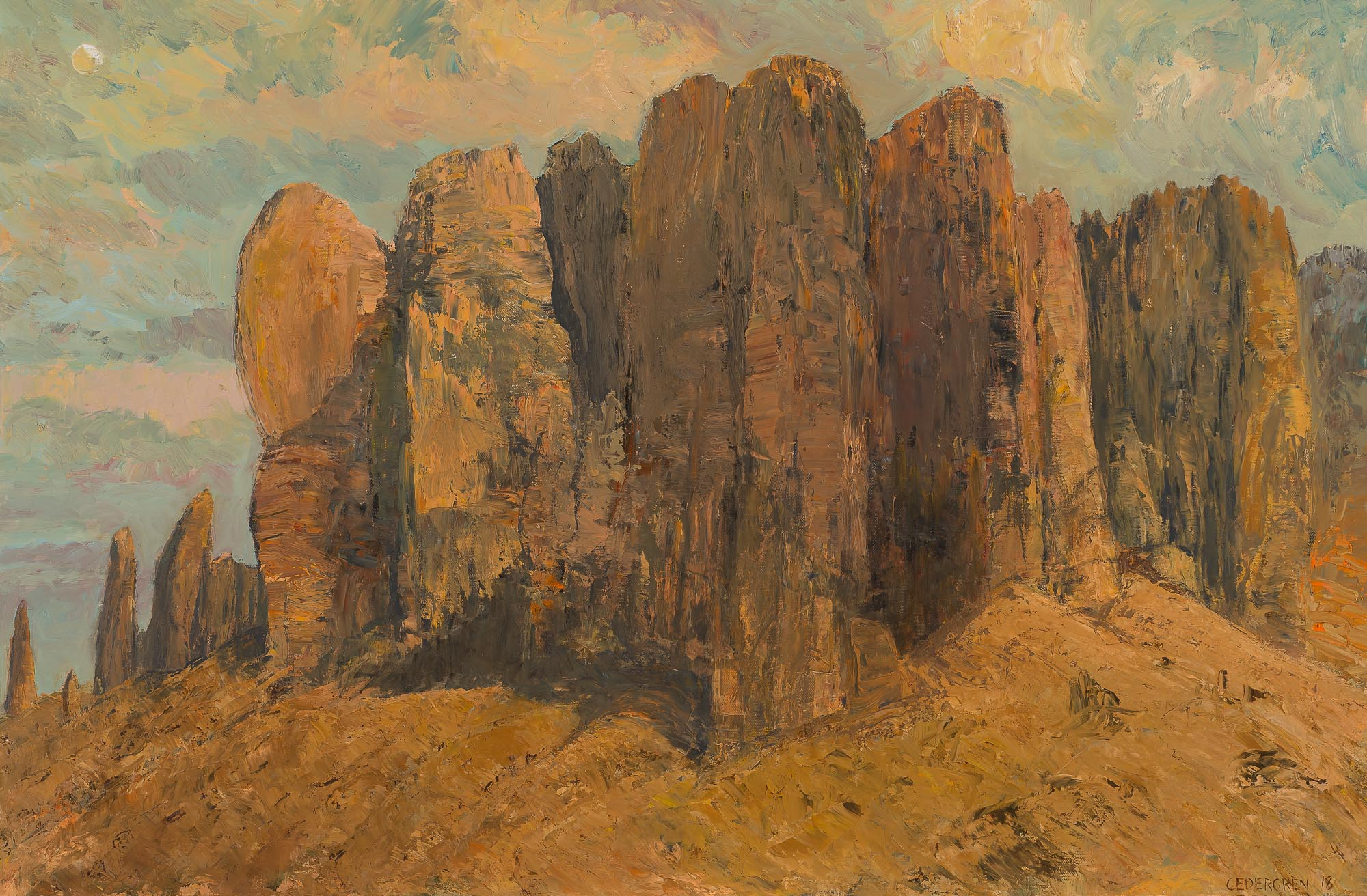 """Superstition Mountain"""