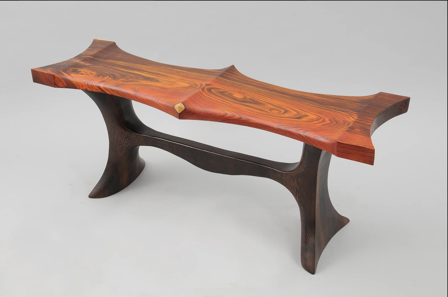 Cocobolo and wenge bench.png