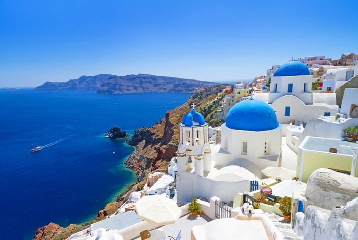 2. Santorini, Greece