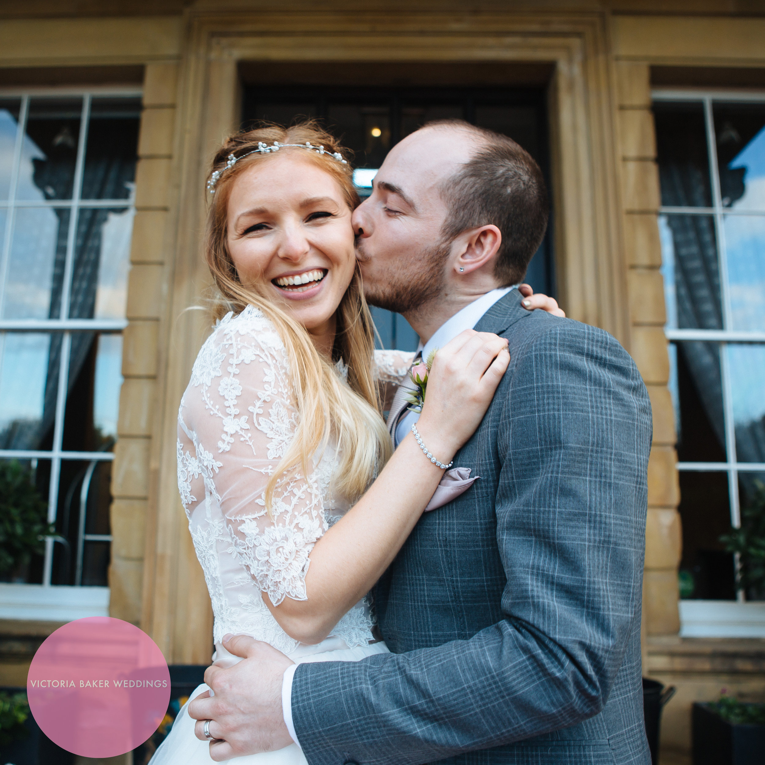 Bride and Groom at Oulton Hall Leeds