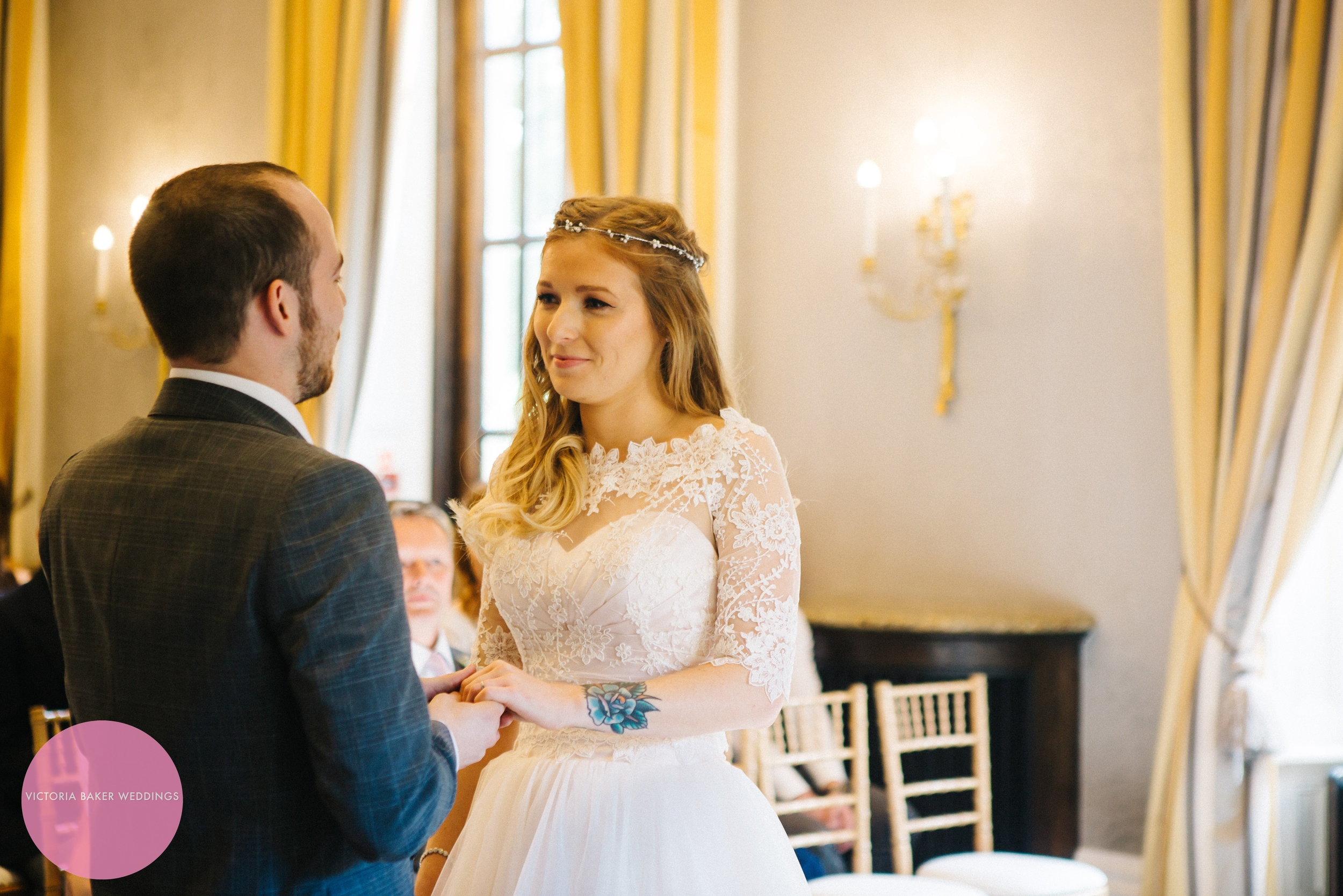 Wedding ceremony Oulton Hall Leeds