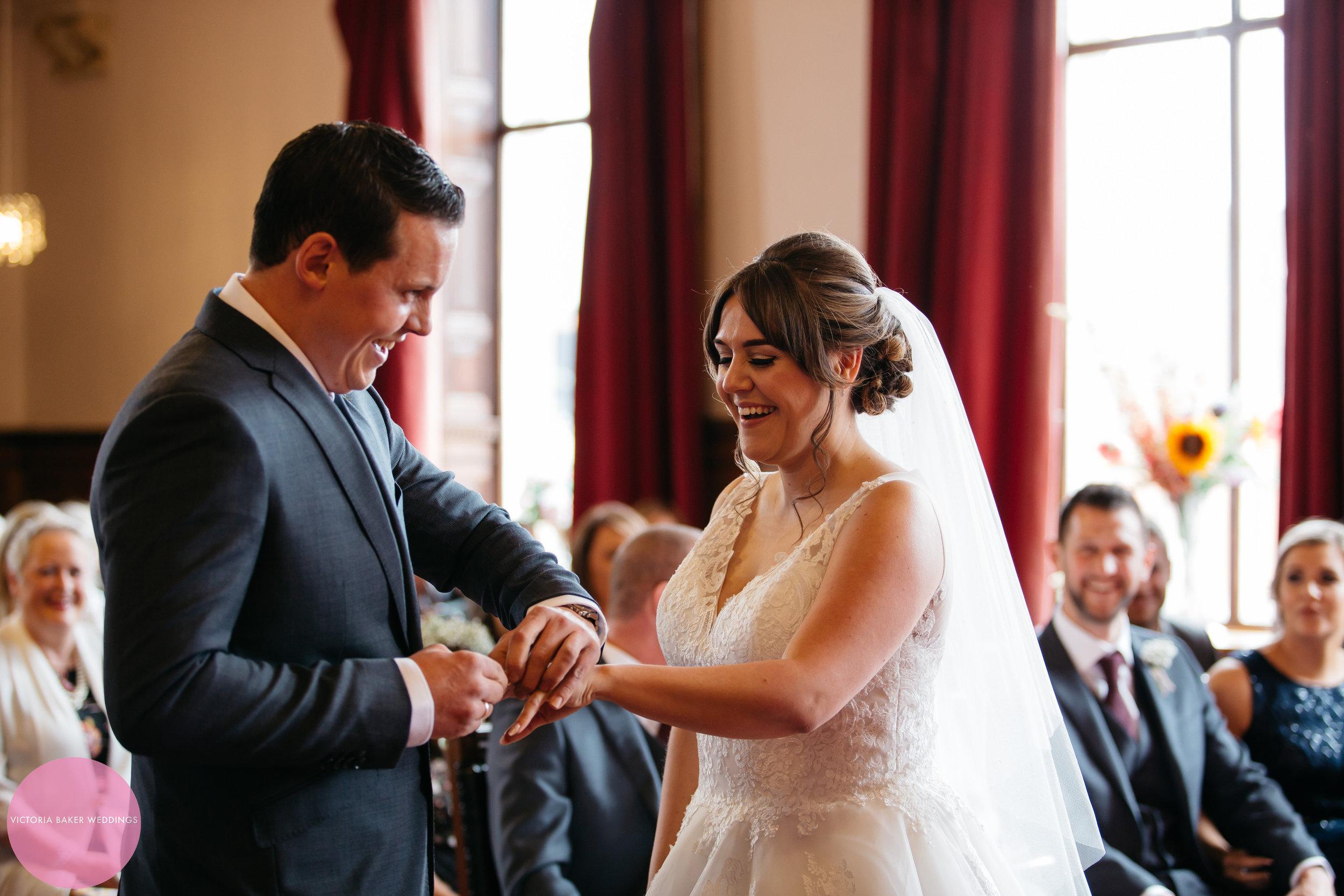Wedding ceremony civil ceremony Leeds