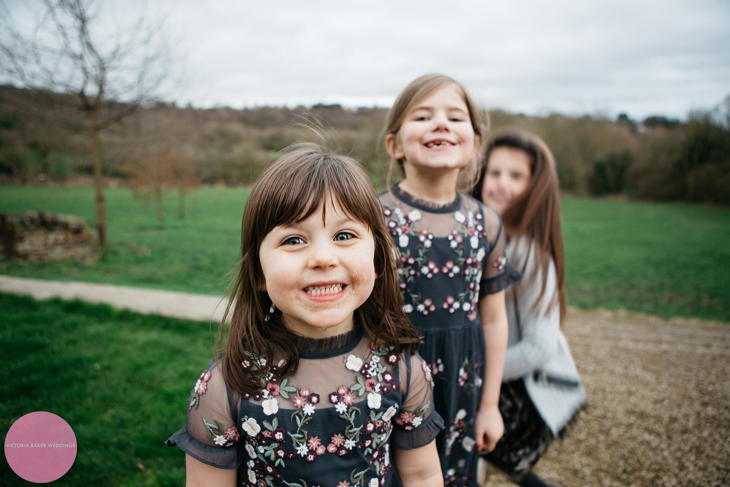 Flower Girls | Portrait photography Leeds