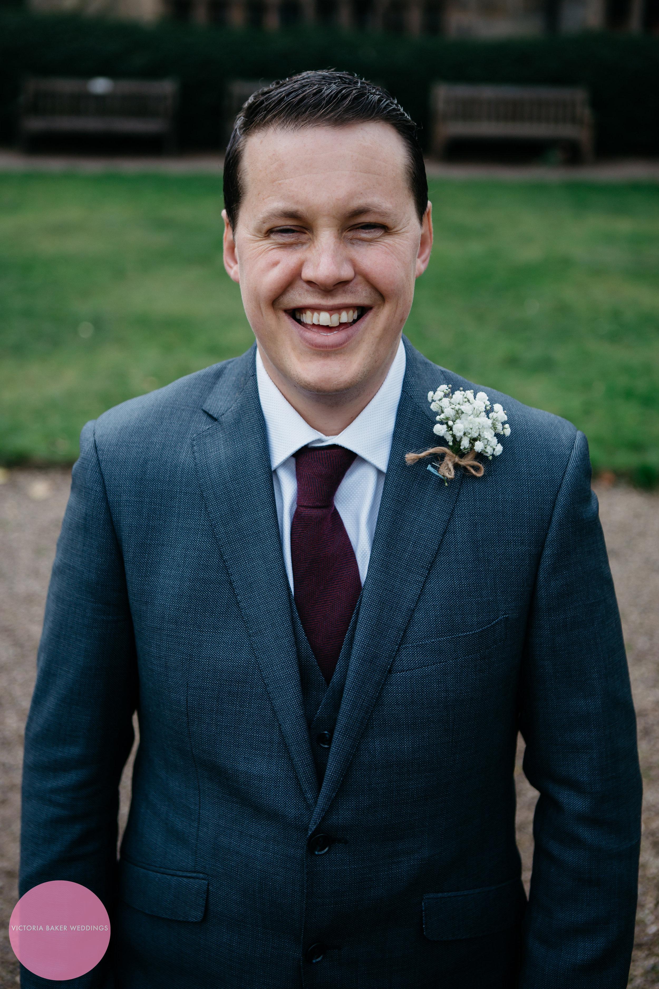 Groom Richard | Wedding Photography Leeds