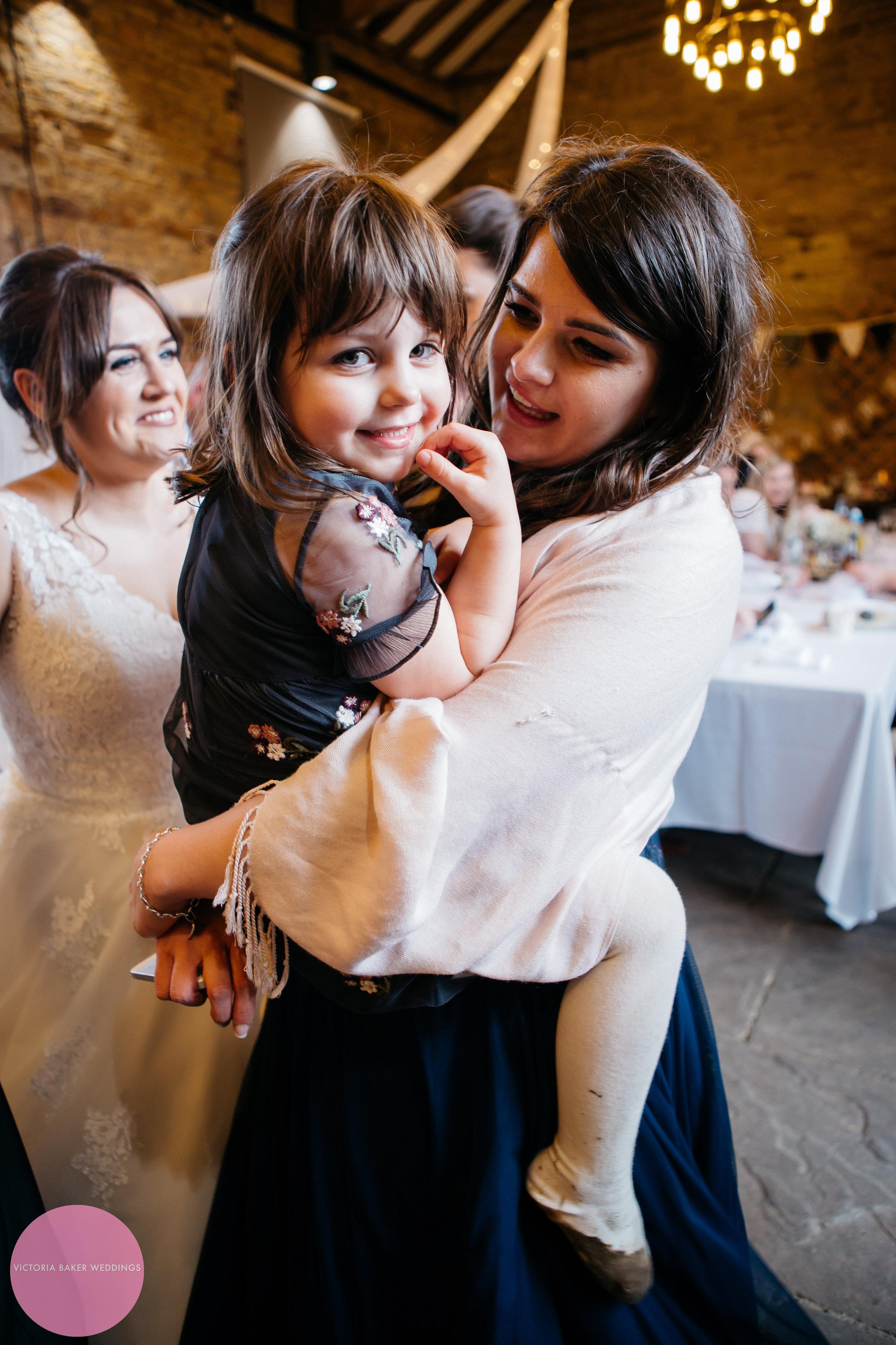 Bridesmaid and Flower girl Oakwell Hall Leeds