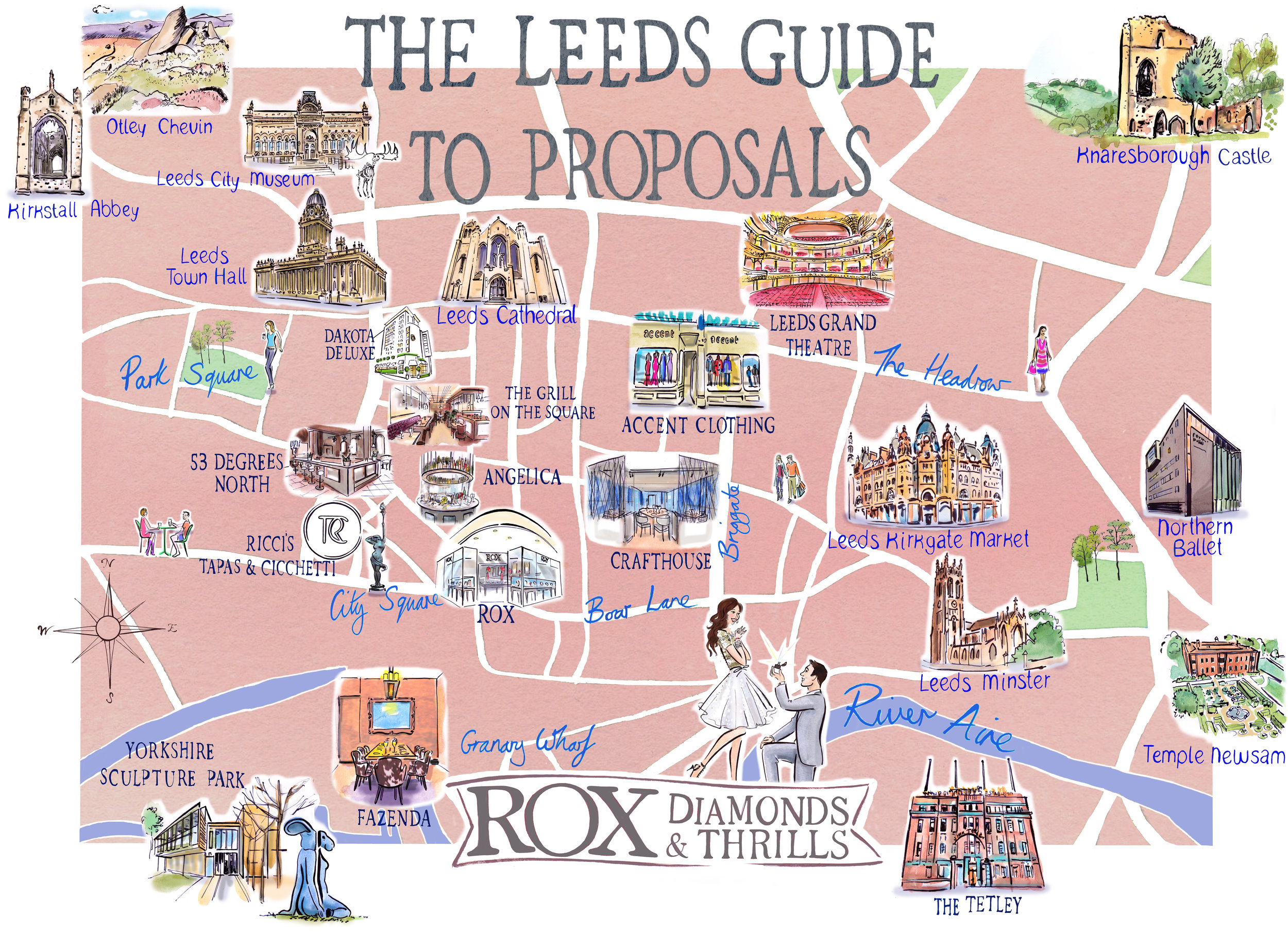 Leeds proposal guide ROX Jewellers