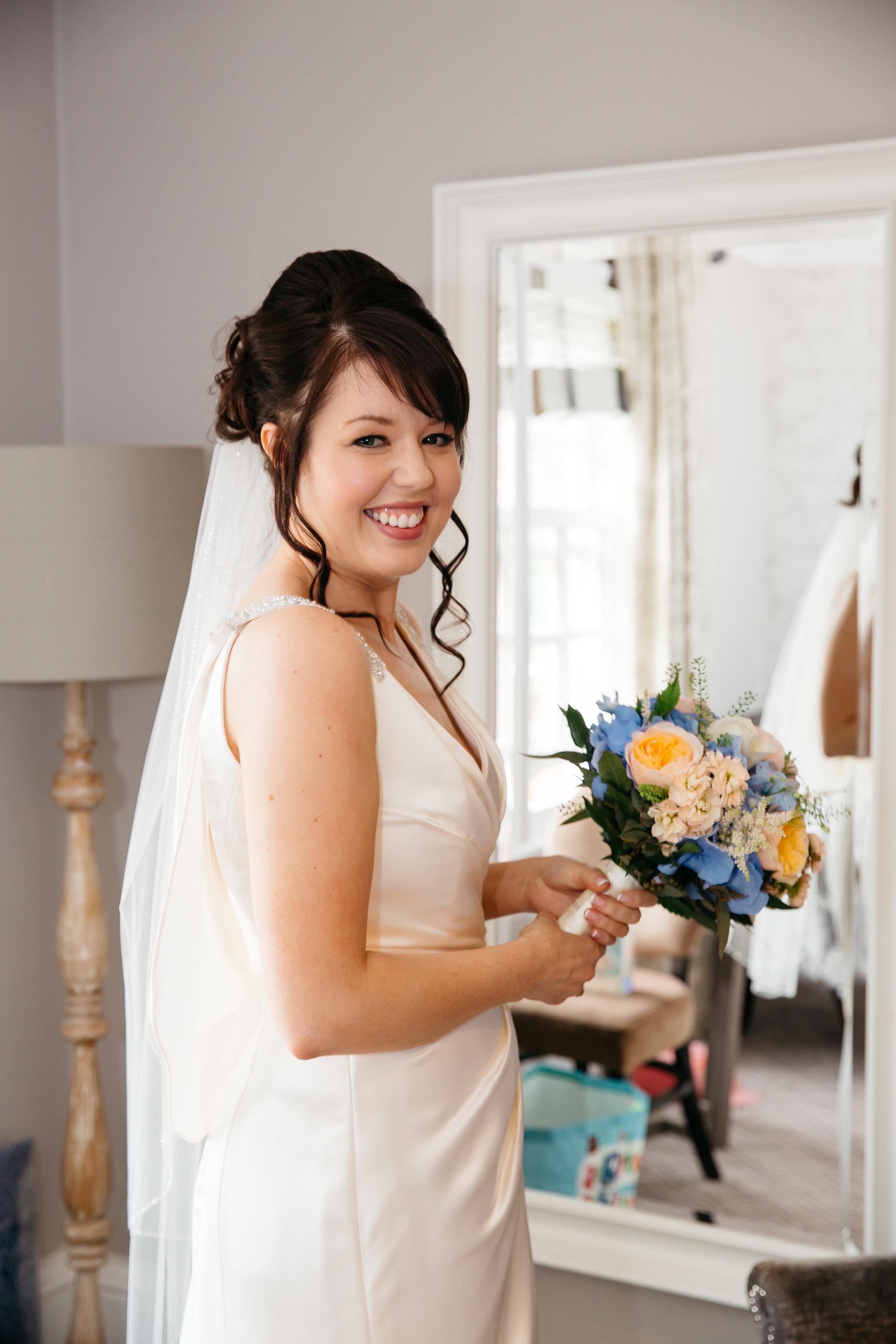 Bride at Oulton Hall Leeds