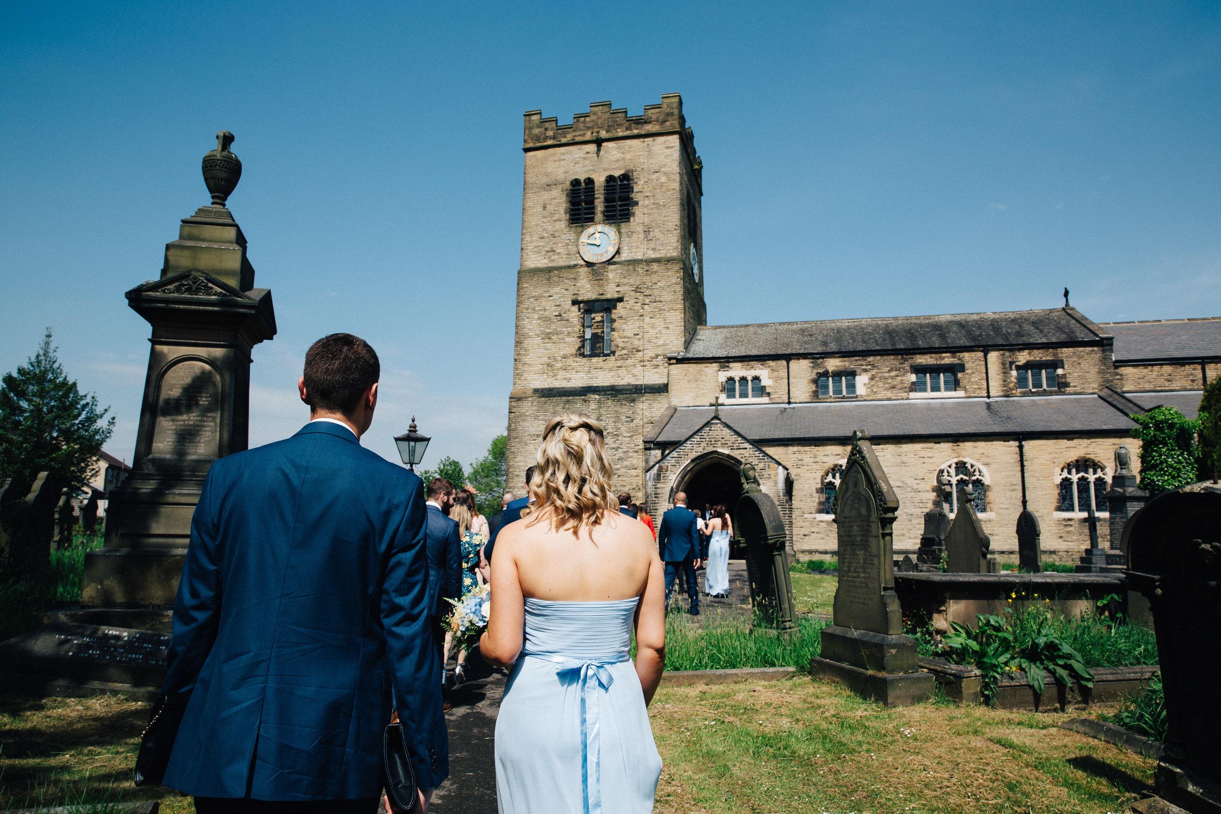 Wedding at St Pauls Church Leeds