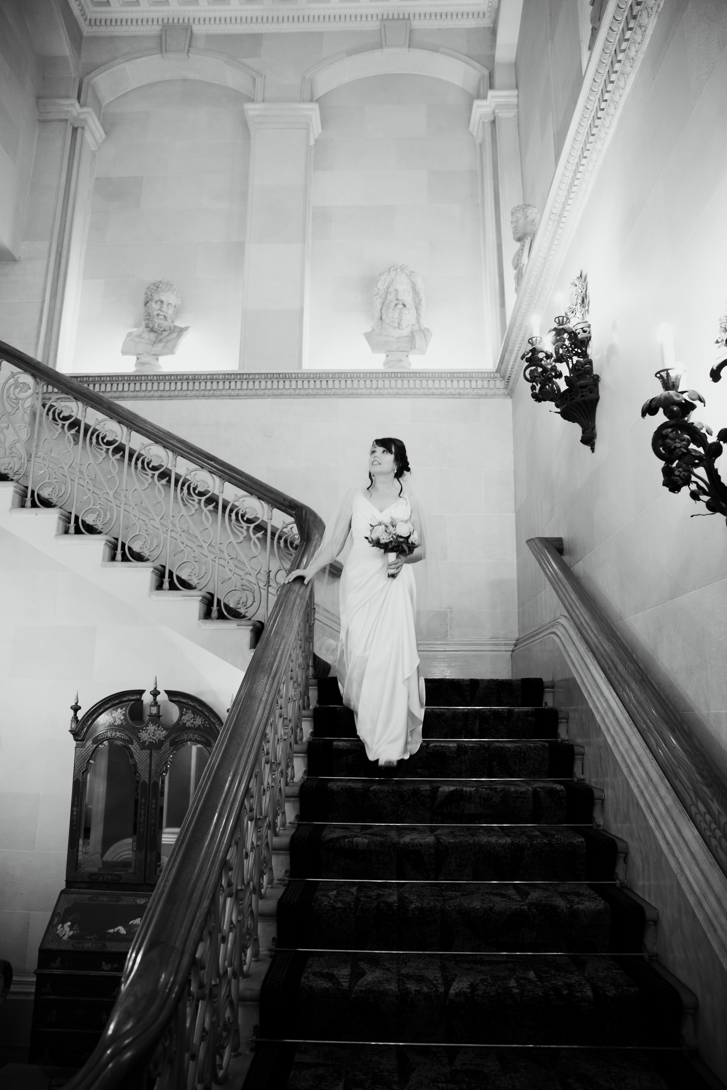Bride at Oulton Hall Leeds Wedding Photographer Leeds