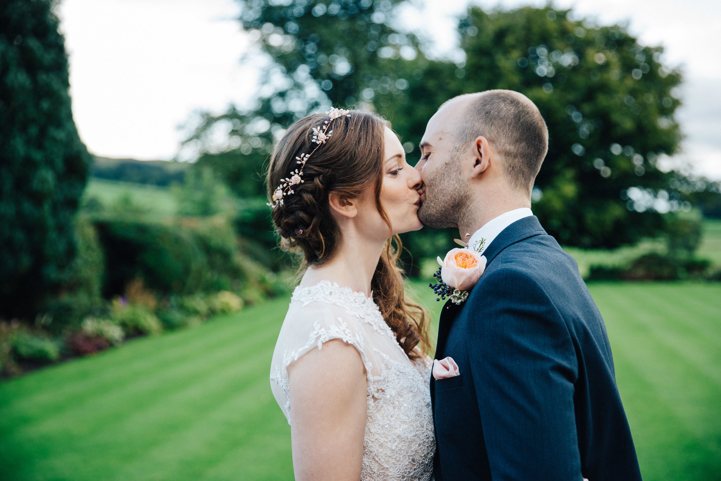 Deborah & Oliver just married at Falcon Manor North Yorkshire Wedding