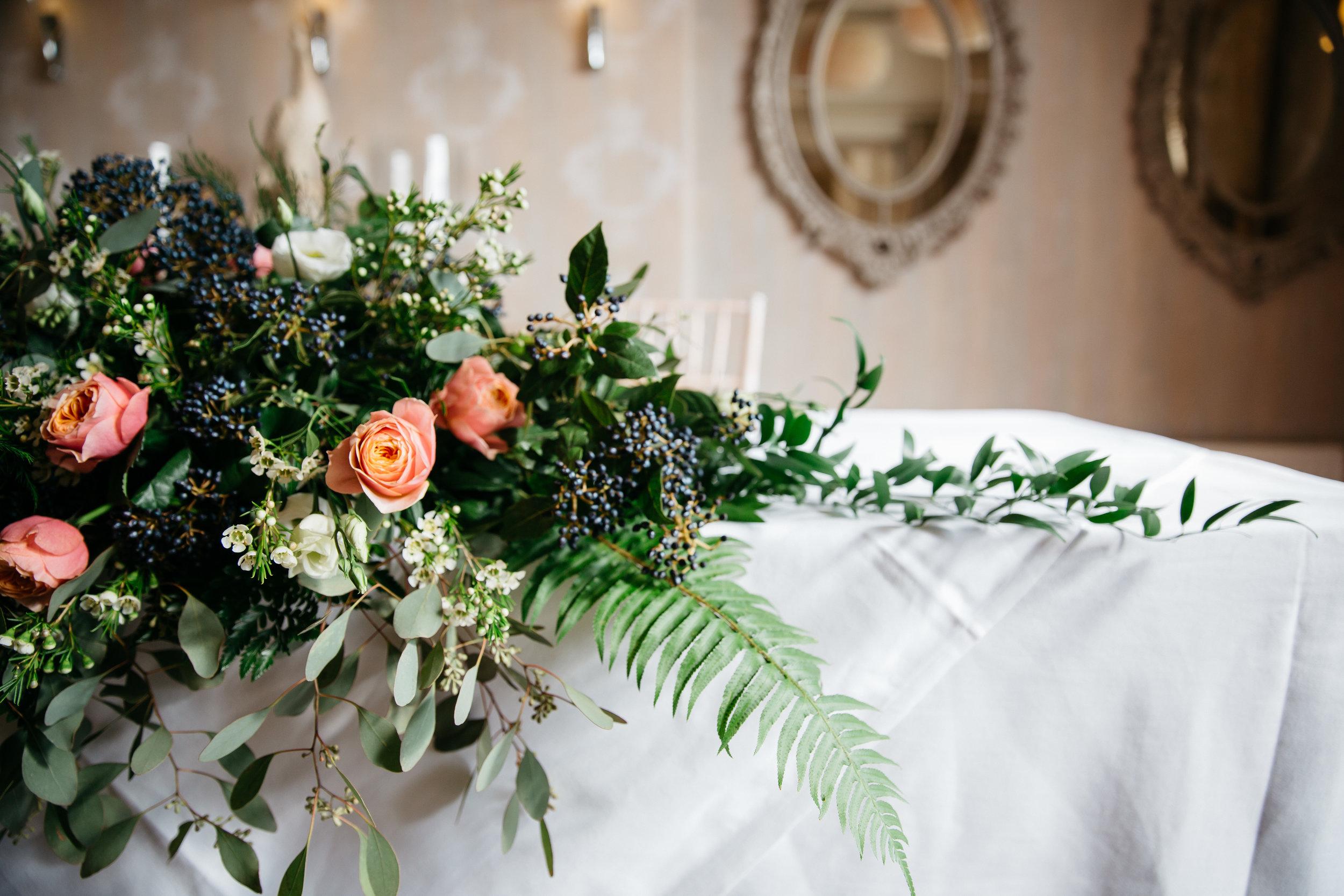 Falcon Manor Wedding Venue Floral Decoration