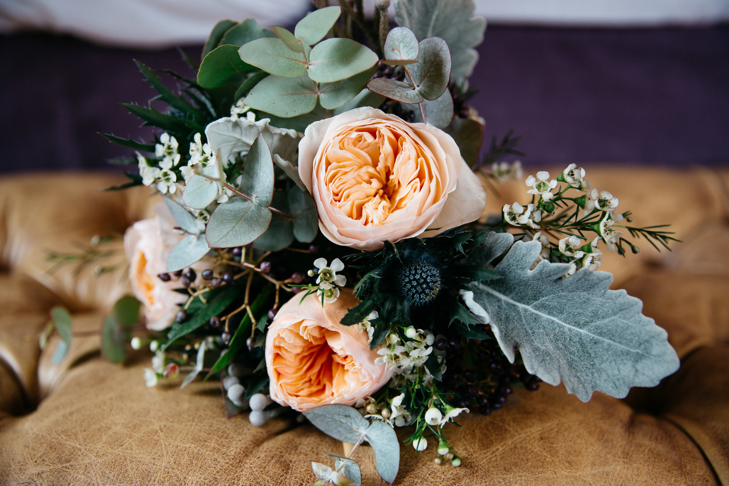 Wedding Flowers at Falcon Manor Wedding Photography Yorkshire