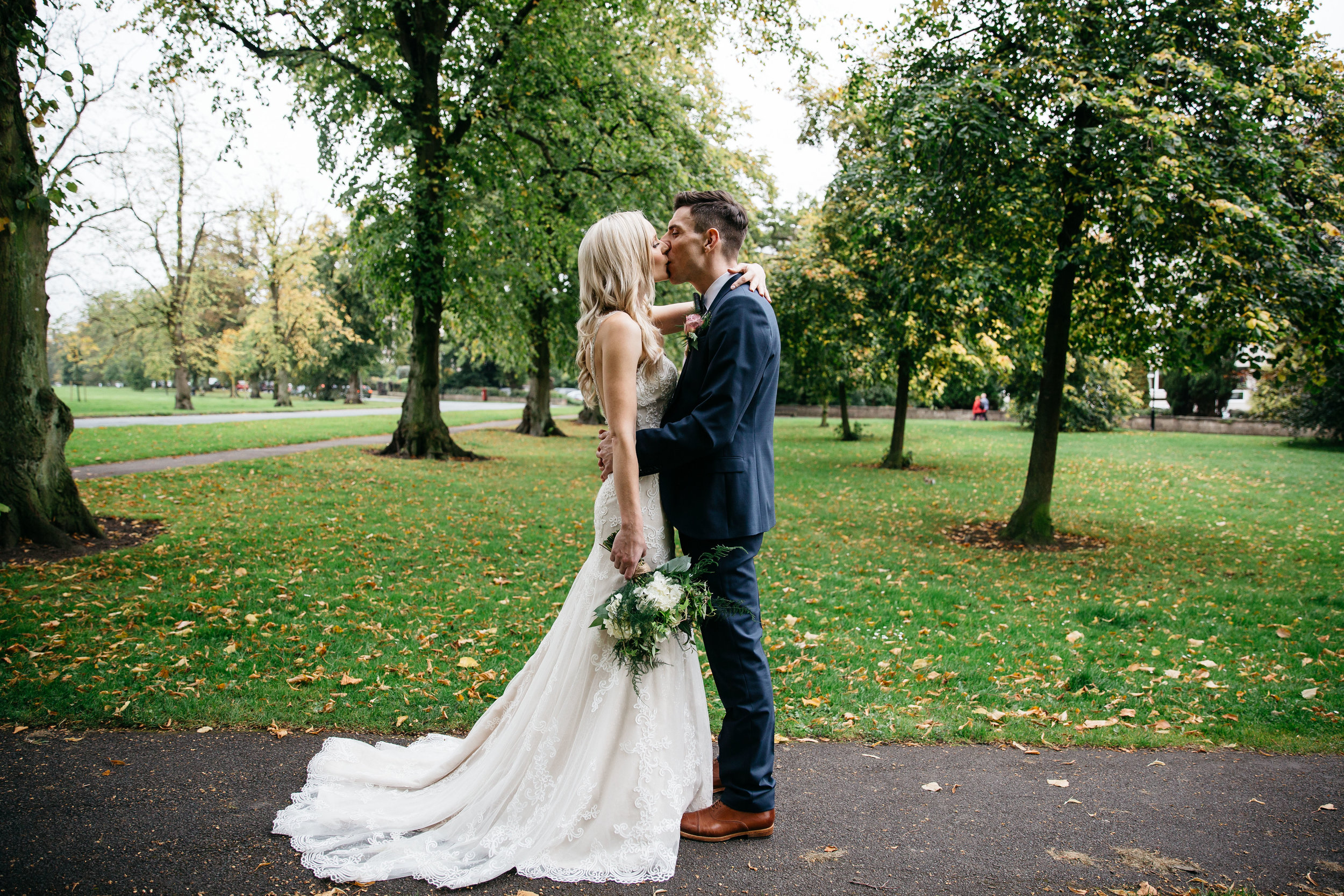 Amanda & Ryan on The Stray Harrogate Wedding Photography