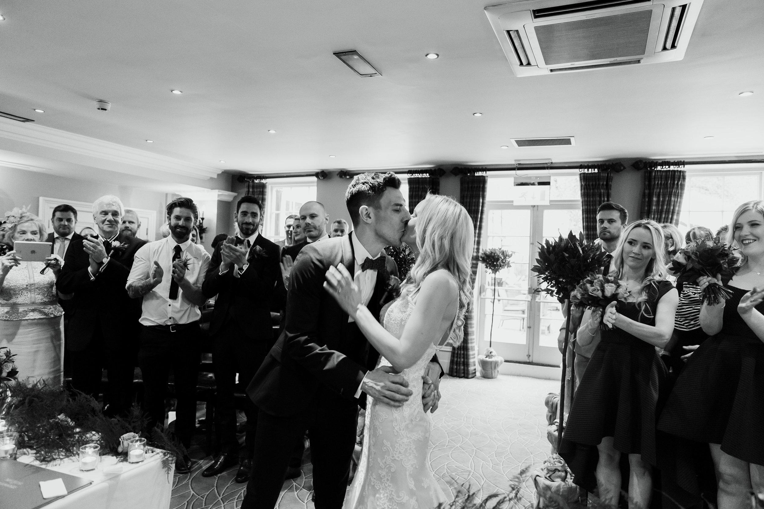 Just Married at Hotel Du Vin Harrogate