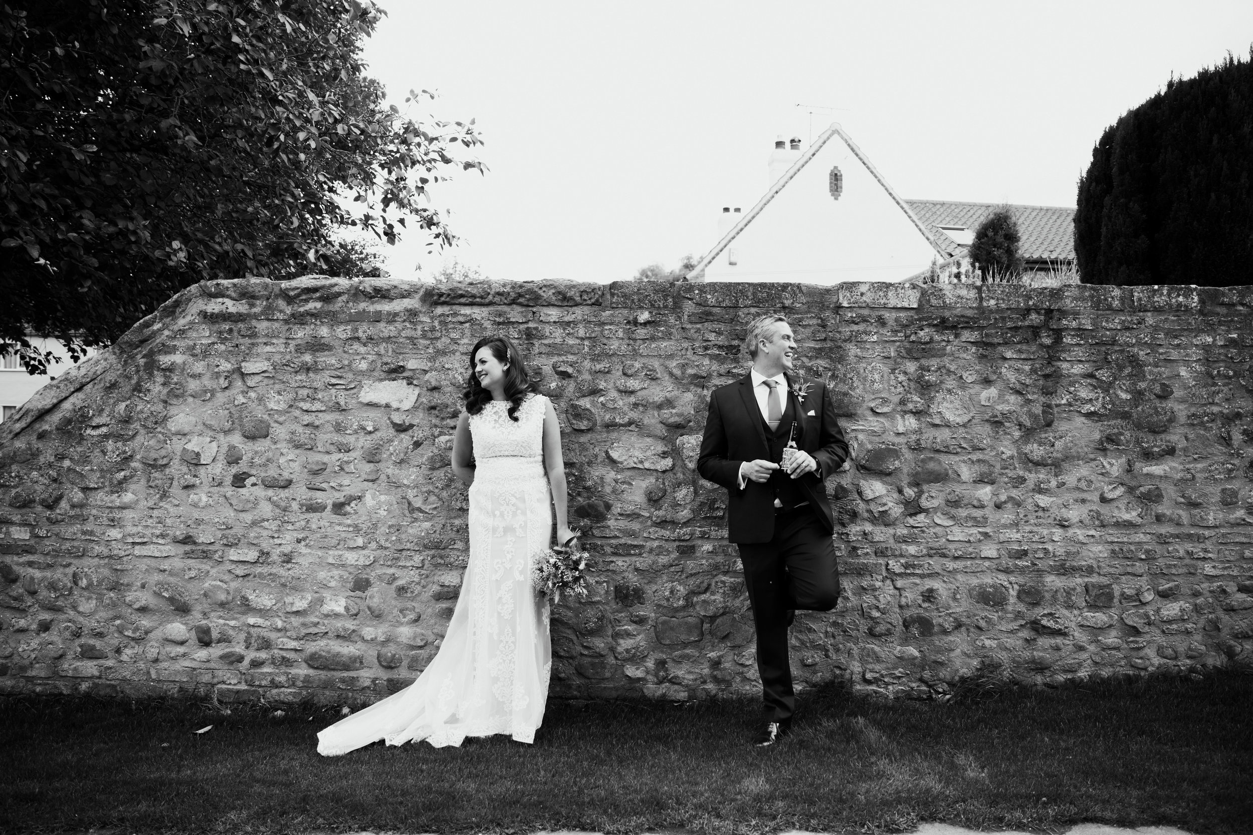 Samantha & Steve Just married North Yorkshire Wedding Photography