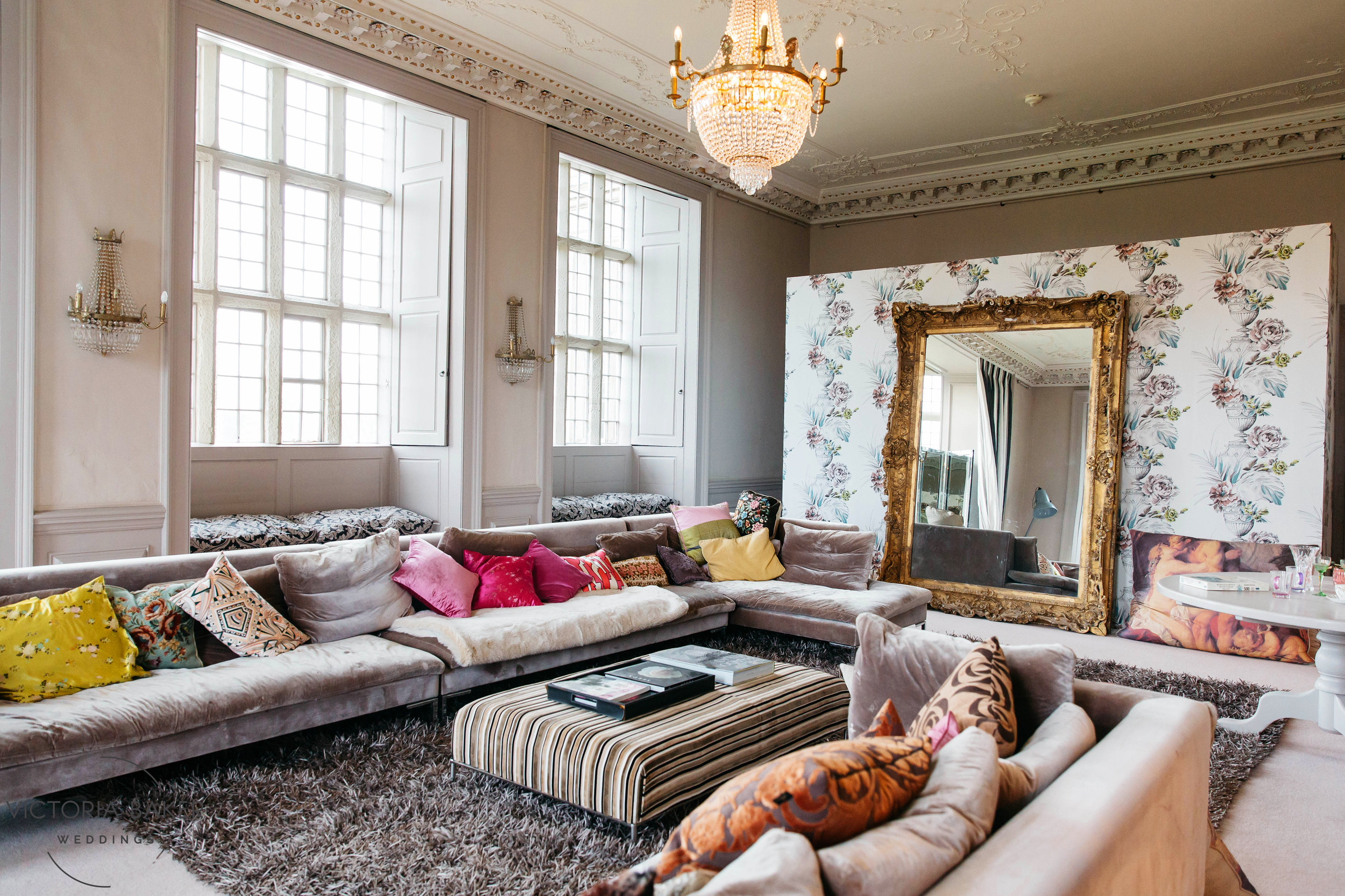 Bridal Suite at Howsham Hall North Yorkshire