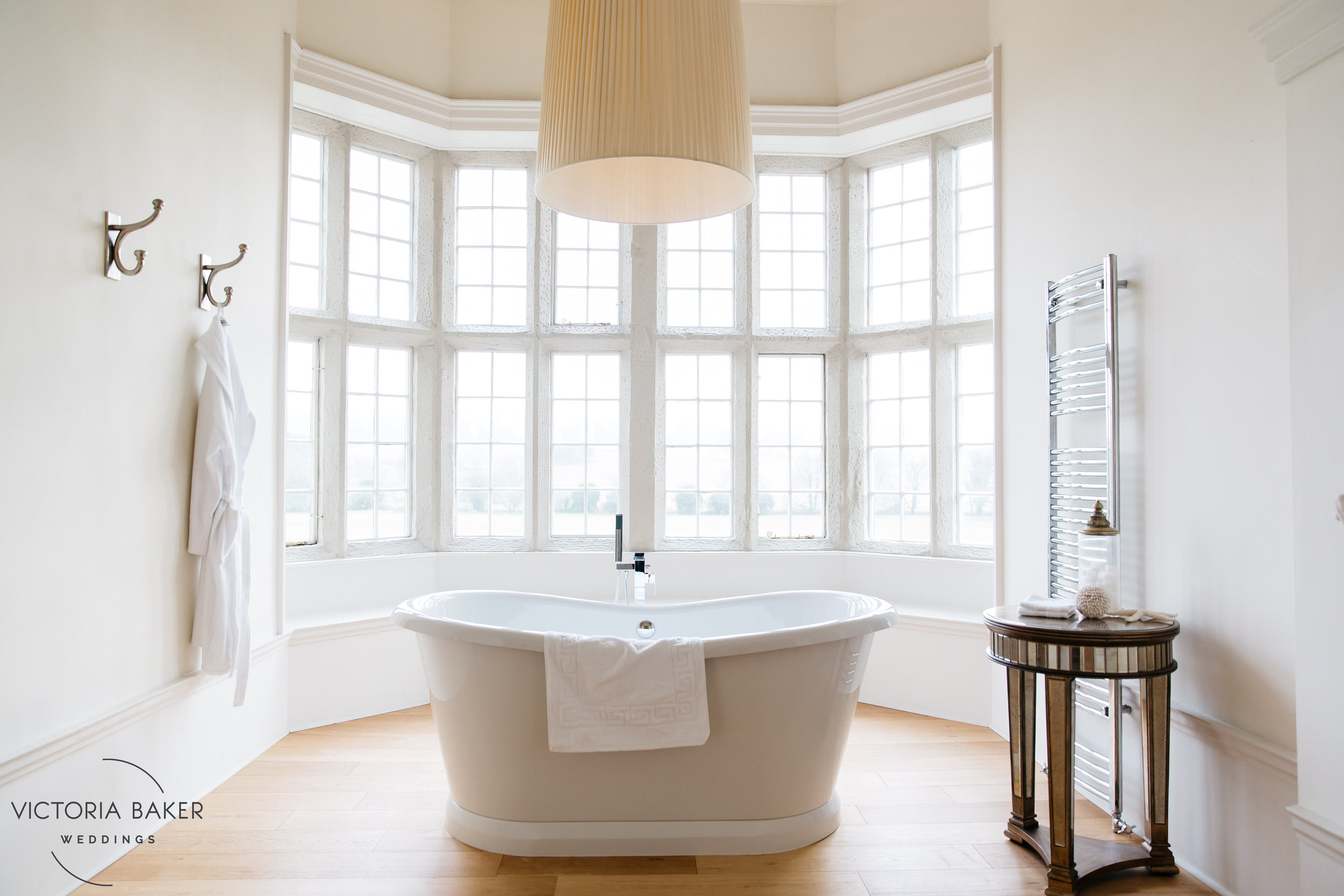 Bathtub goals at Howsham Hall North Yorkshire