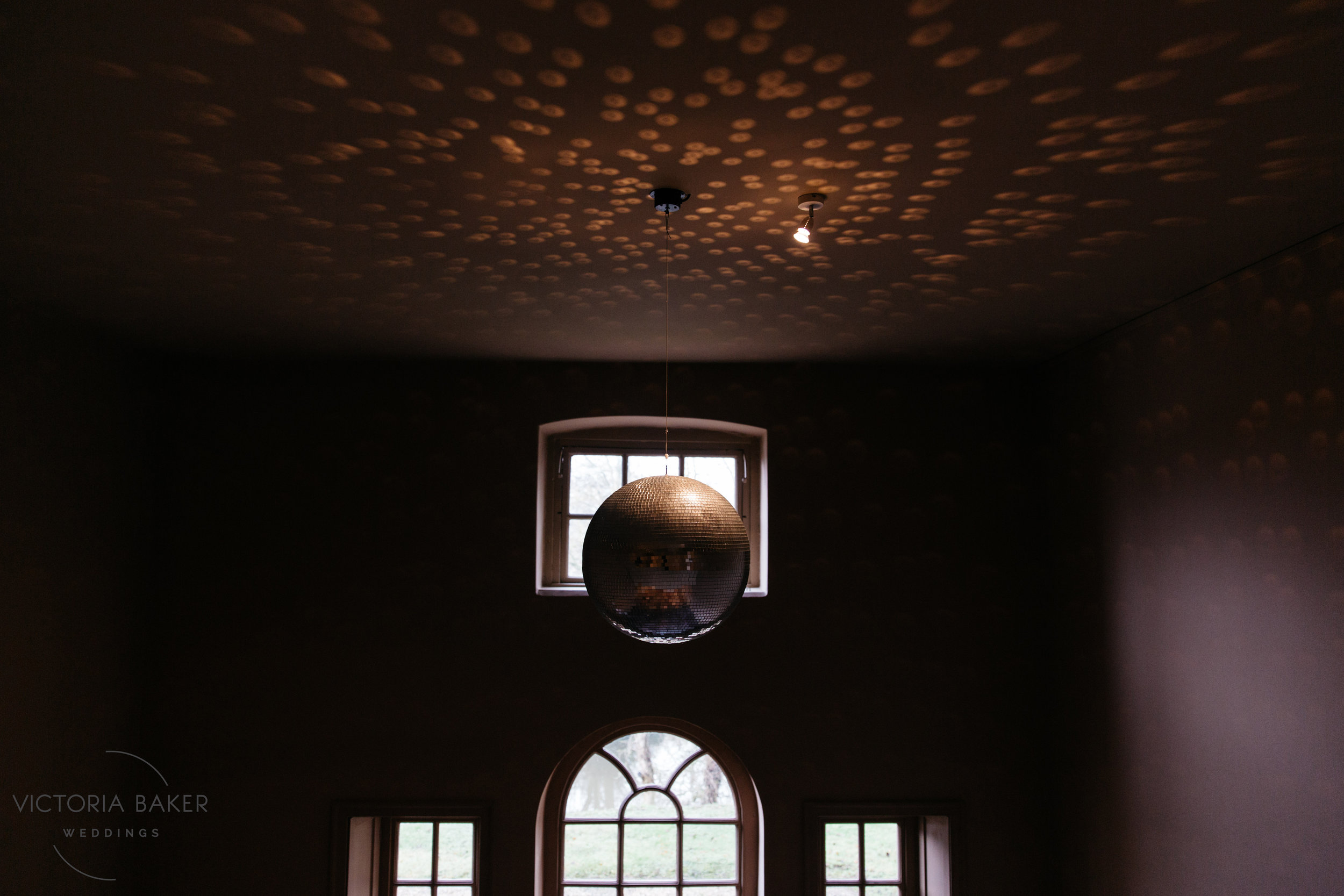 Disco Ball at Howsham Hall North Yorkshire