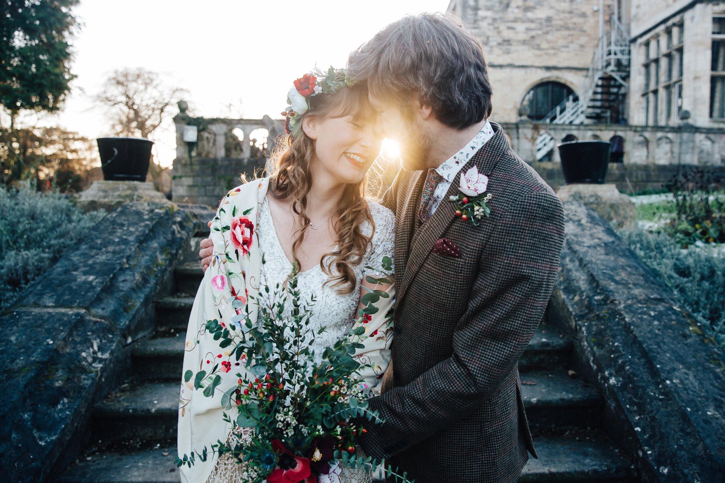 Nicola & Arron Winter wedding