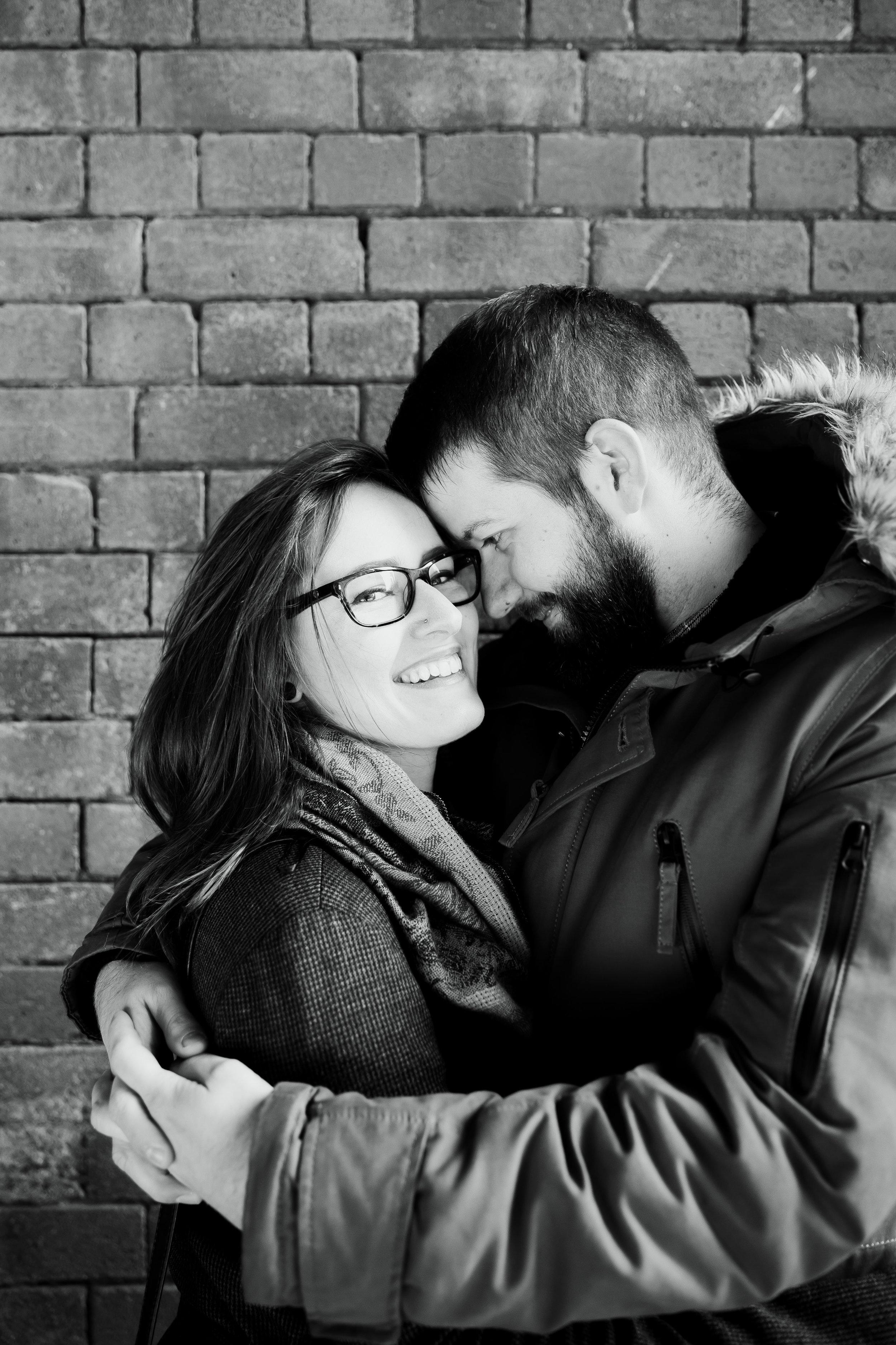 Rebecca & Shaun Engagement Leeds City Centre