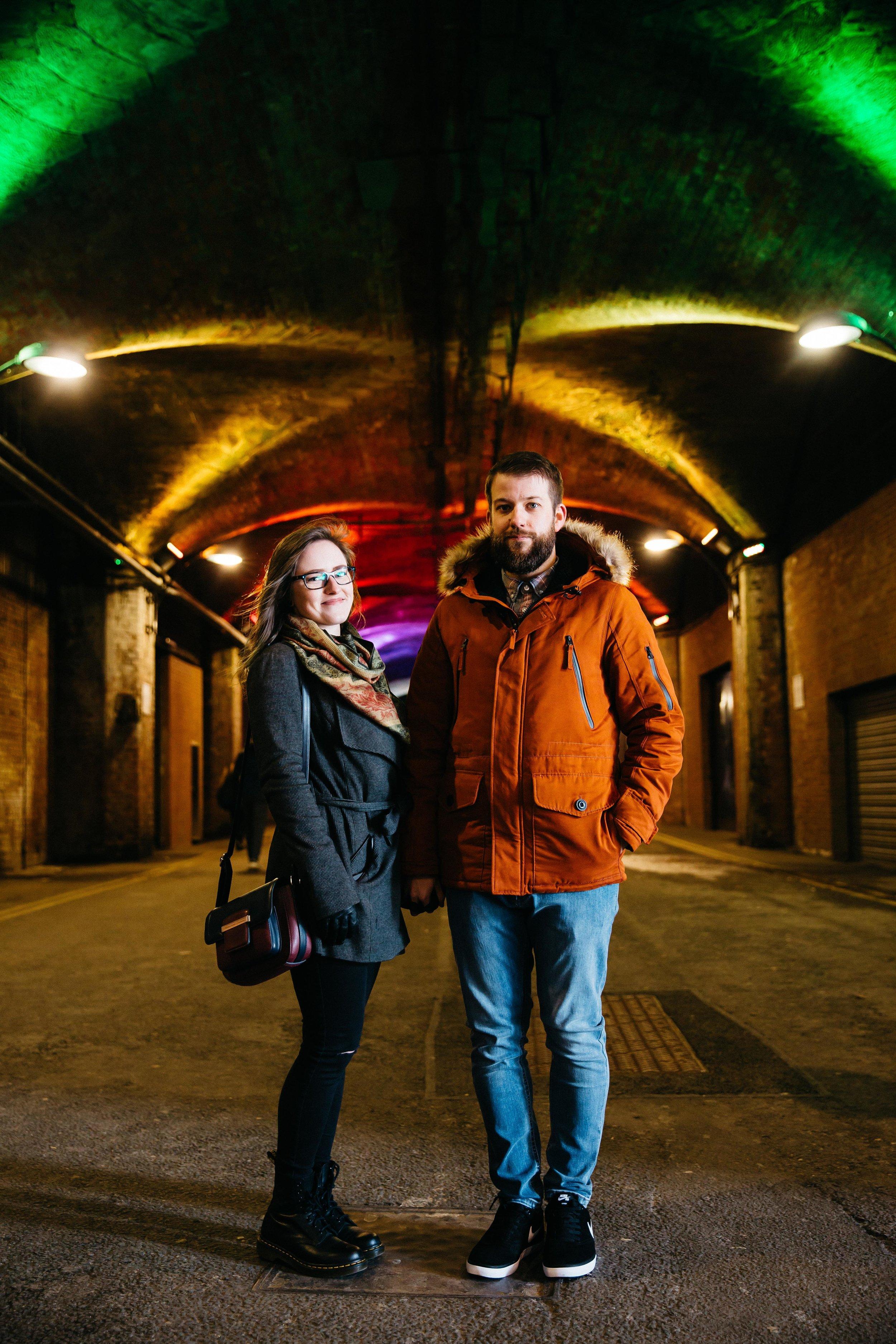 Rebecca & Shaun at Granary Wharf Leeds
