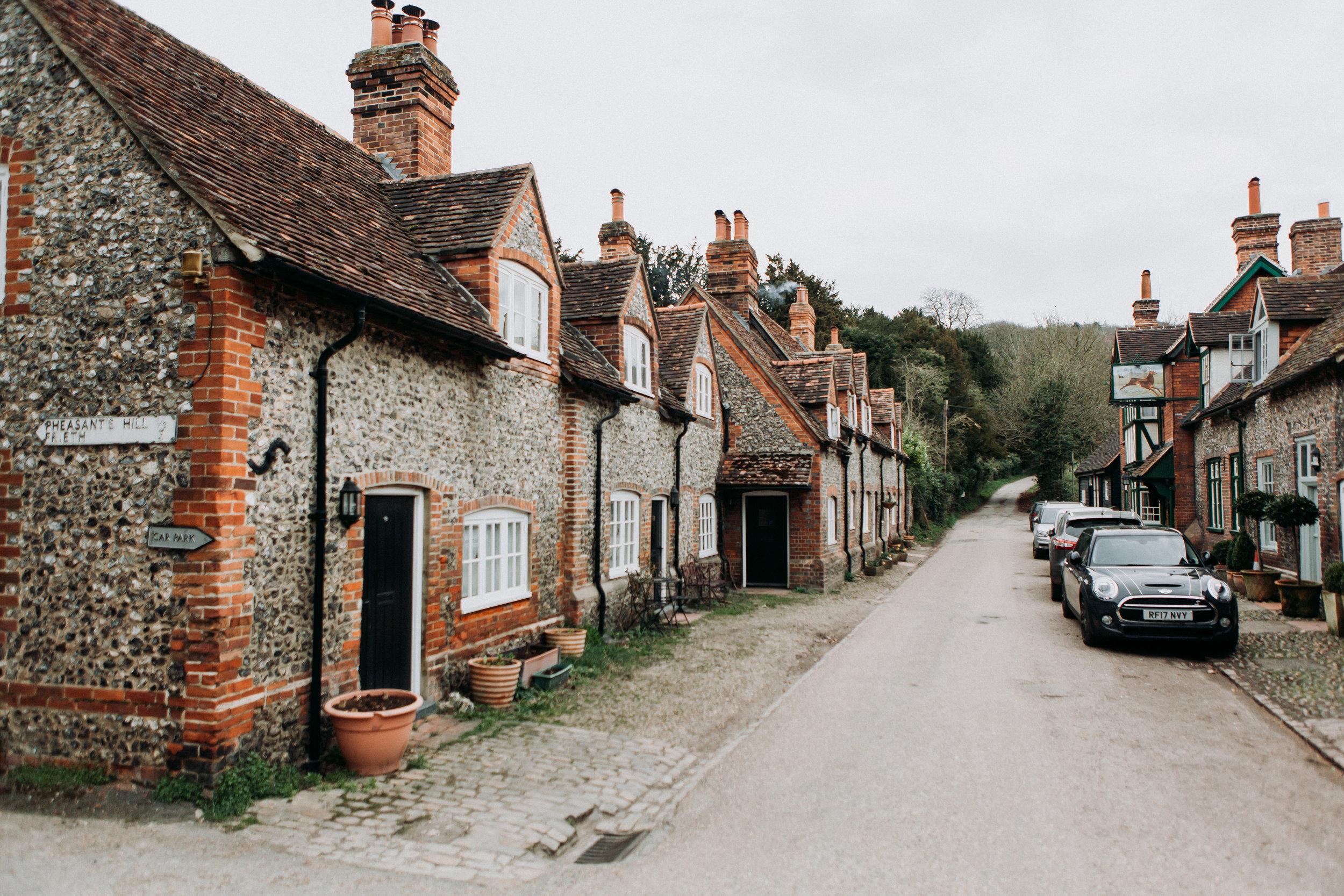 Hambleden Village in The Chilterns