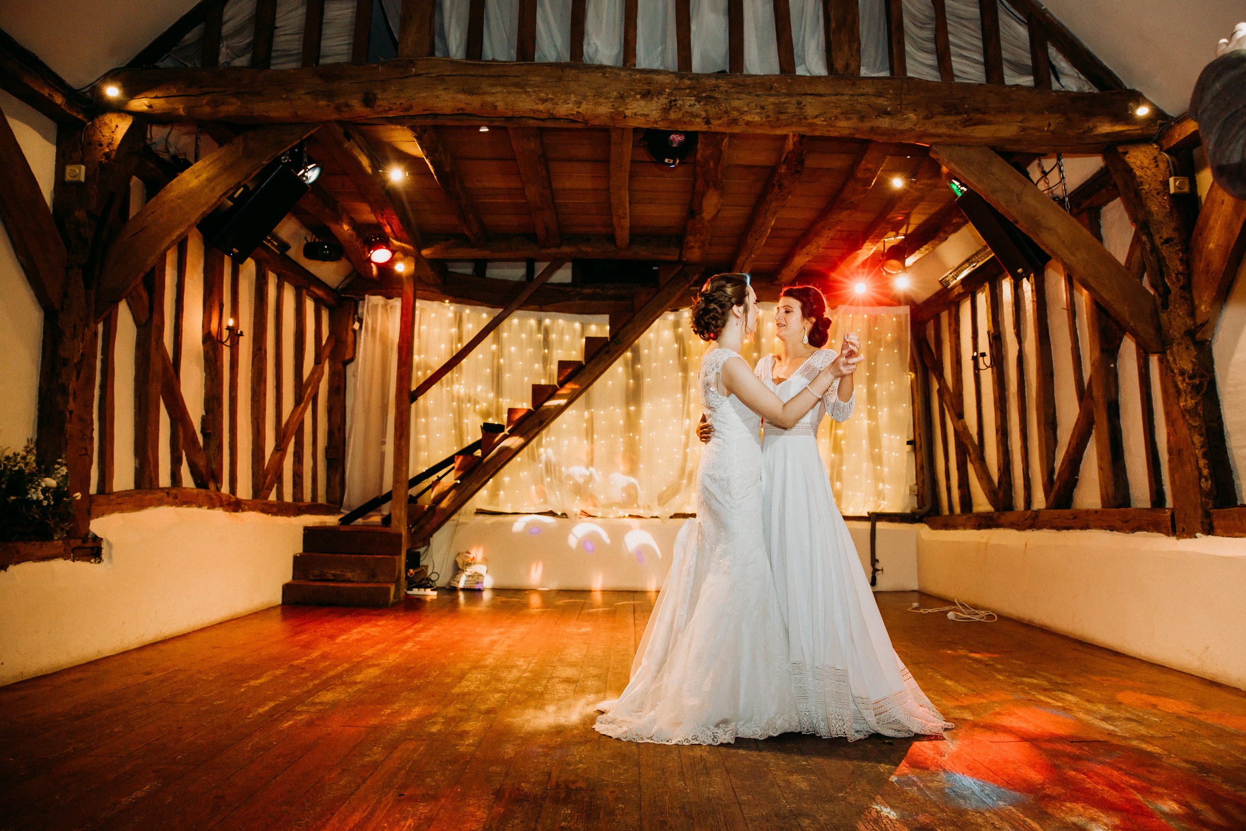 First Dance at Old Luxter's Barn