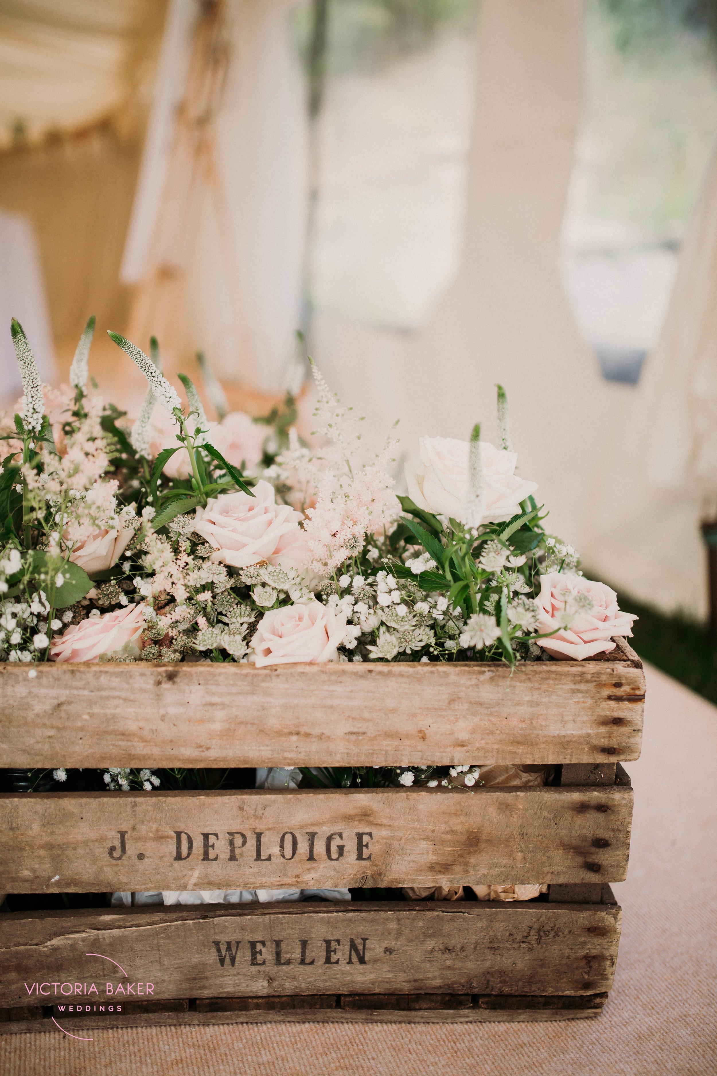 Wedding Flowers at Emily & Adam Woodland Sheffield Wedding