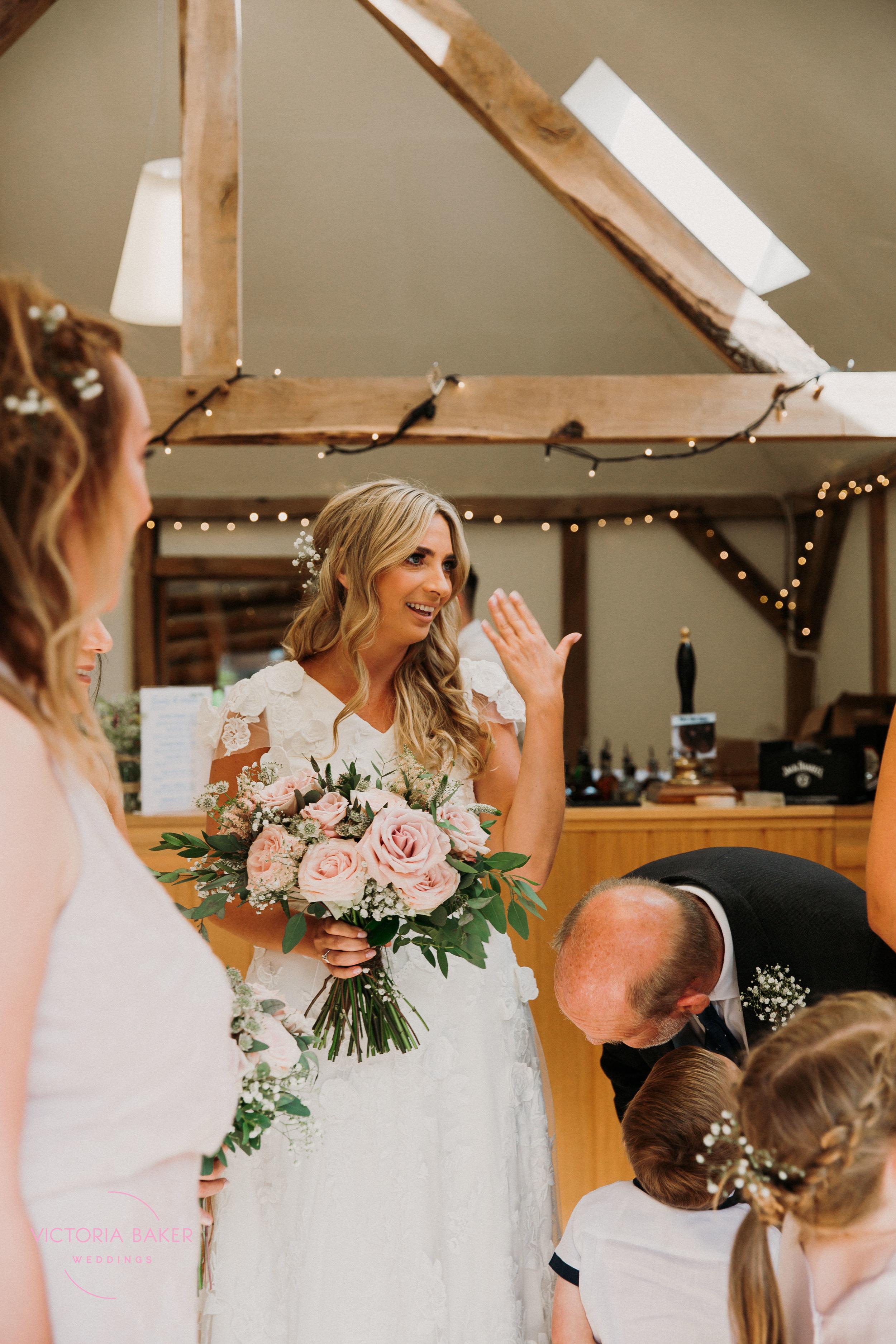 Nervous Bride Sheffield Wedding