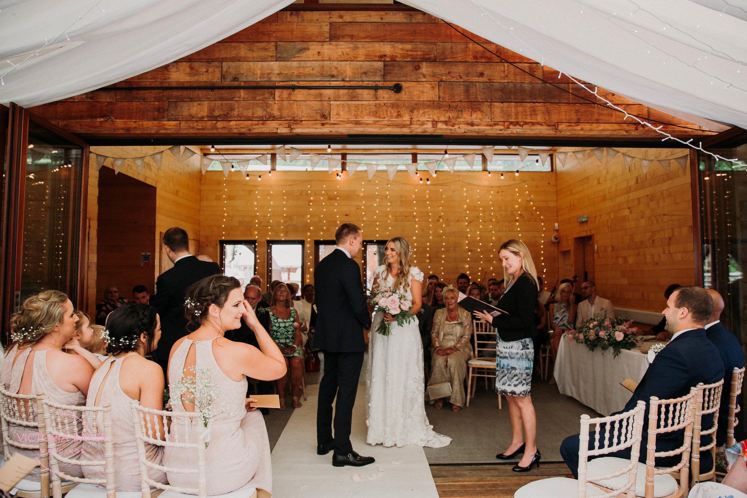 Emily & Adam Woodland Sheffield Wedding