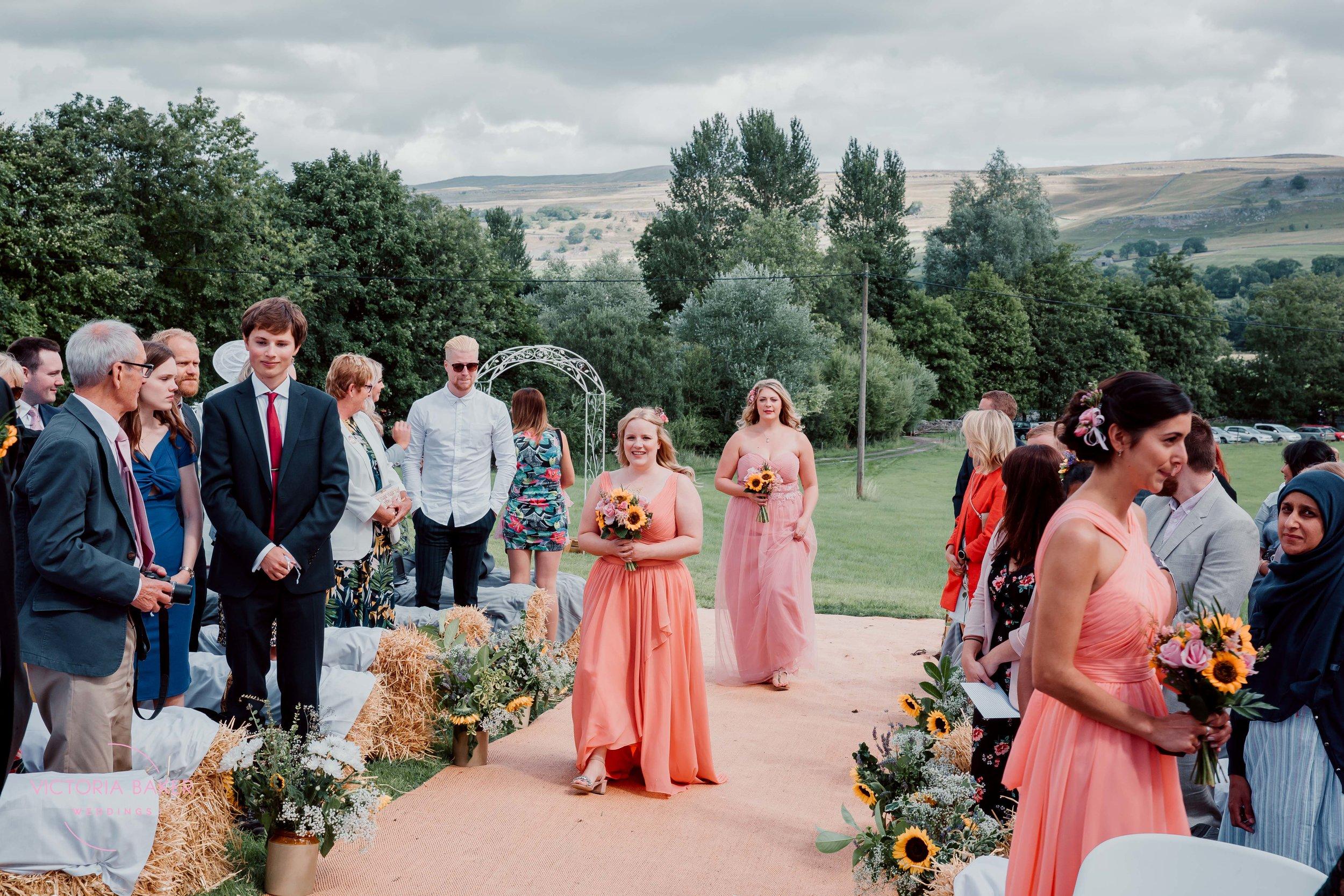 Outdoor wedding at Kilnsey Park Estate Wedding Photography