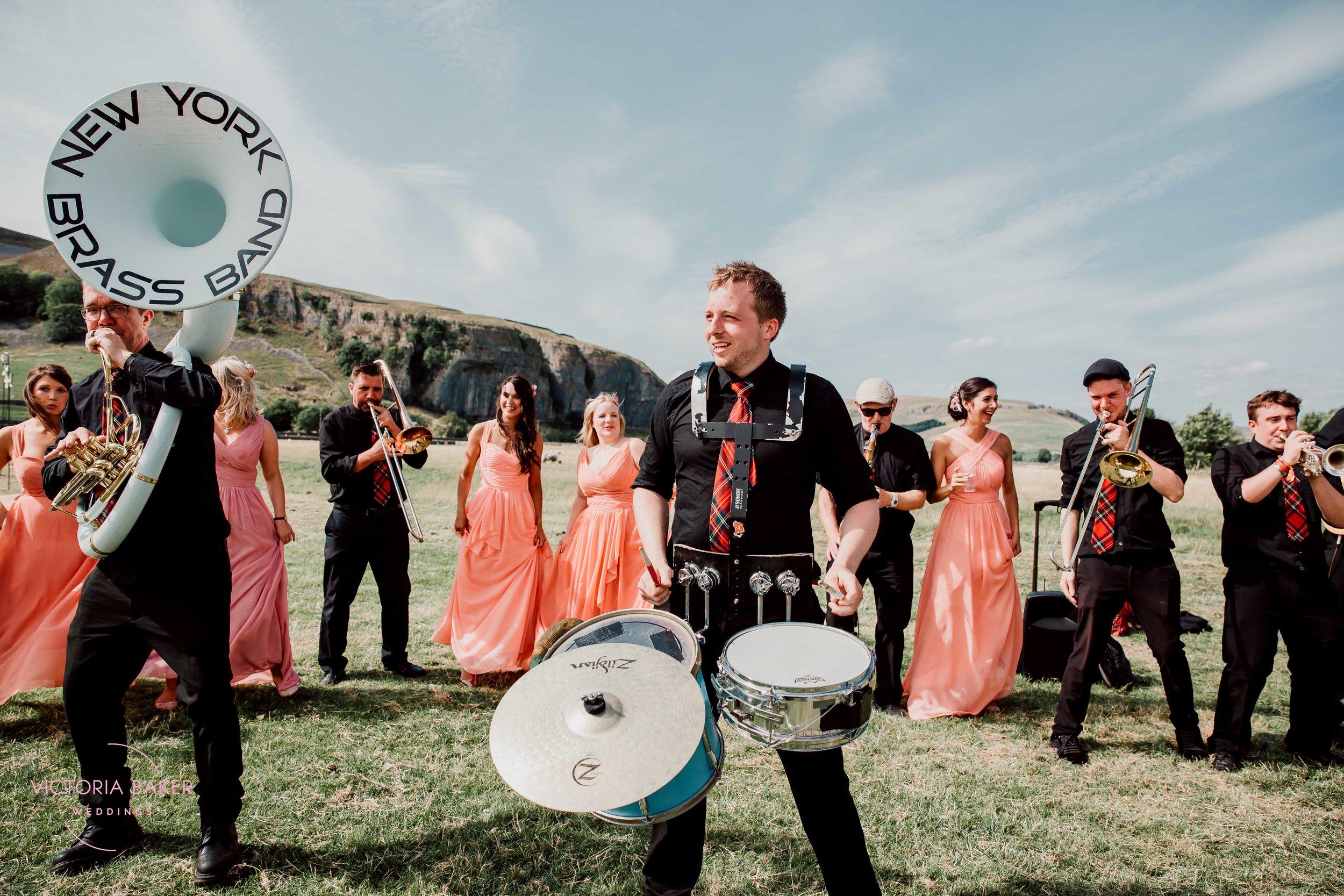 Drummer at Kilnsey Park Estate