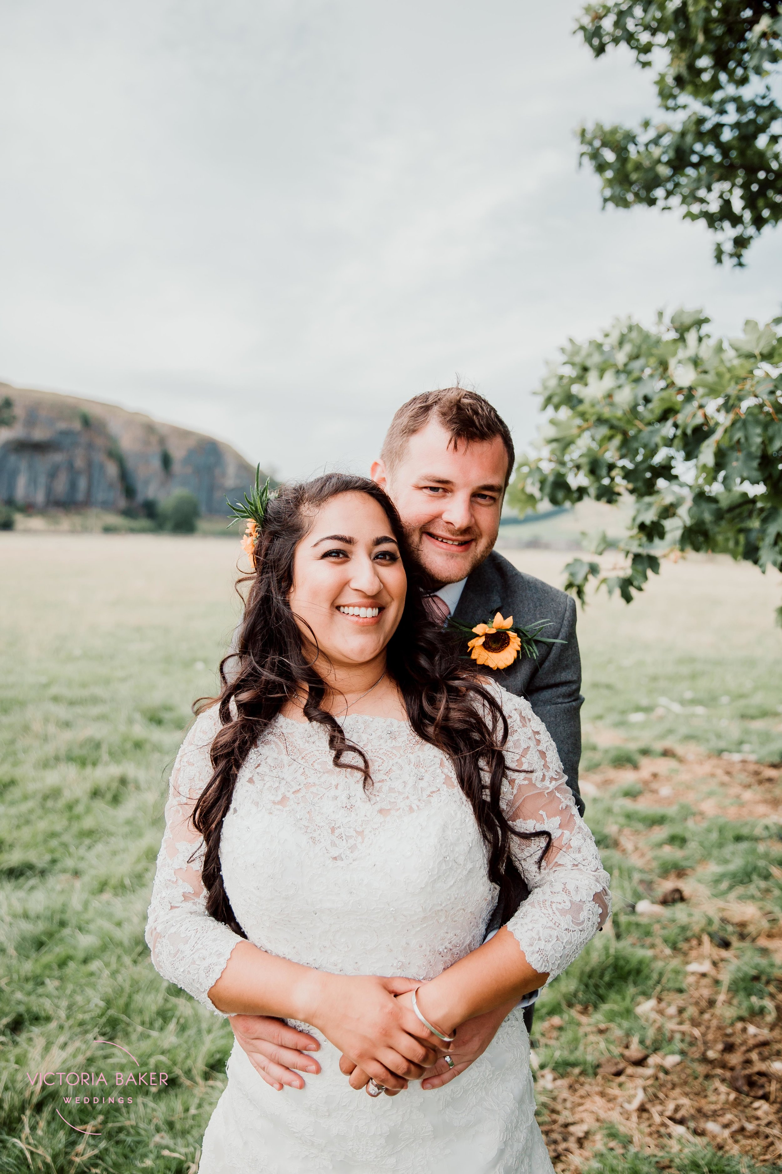 Safia & Jonathan at Kilnsey Park Estate